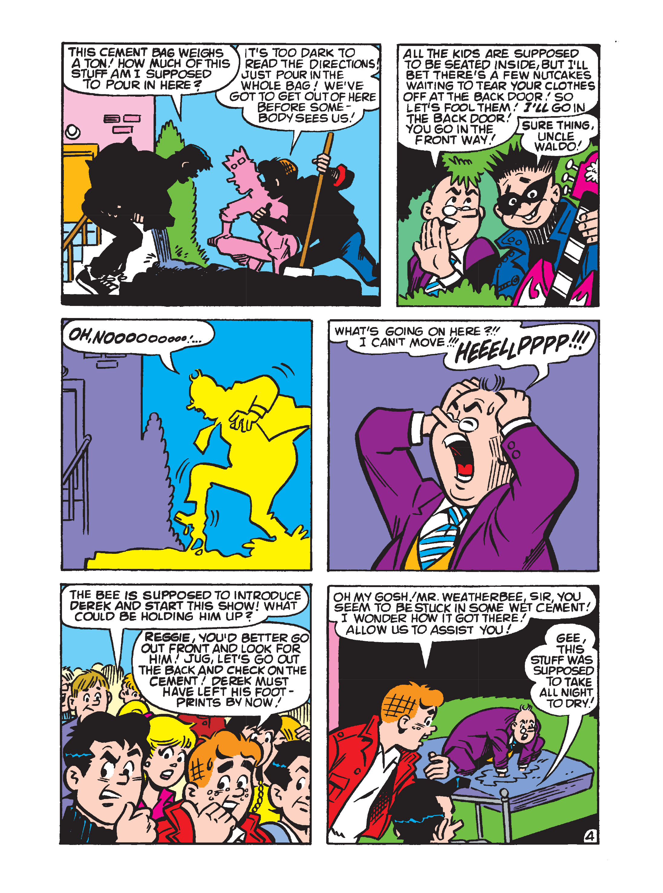 Read online Archie's Funhouse Double Digest comic -  Issue #8 - 142