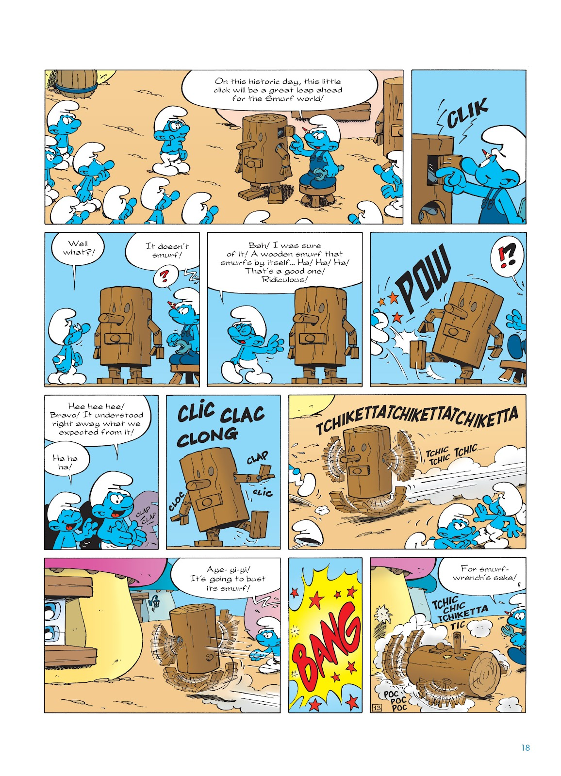 Read online The Smurfs comic -  Issue #23 - 18