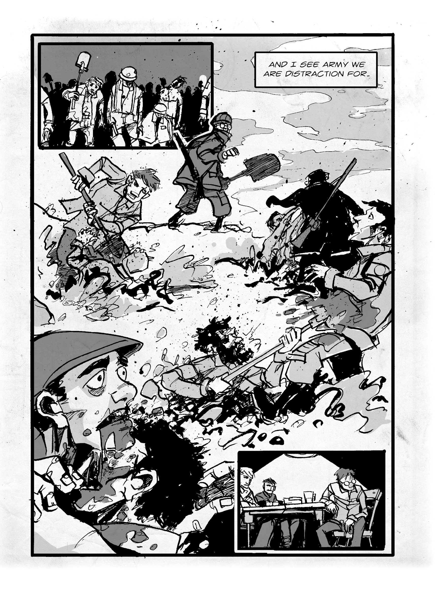Read online FUBAR comic -  Issue #1 - 121