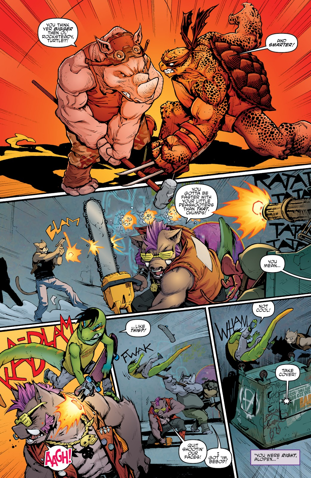 Read online Teenage Mutant Ninja Turtles: The IDW Collection comic -  Issue # TPB 5 (Part 2) - 45