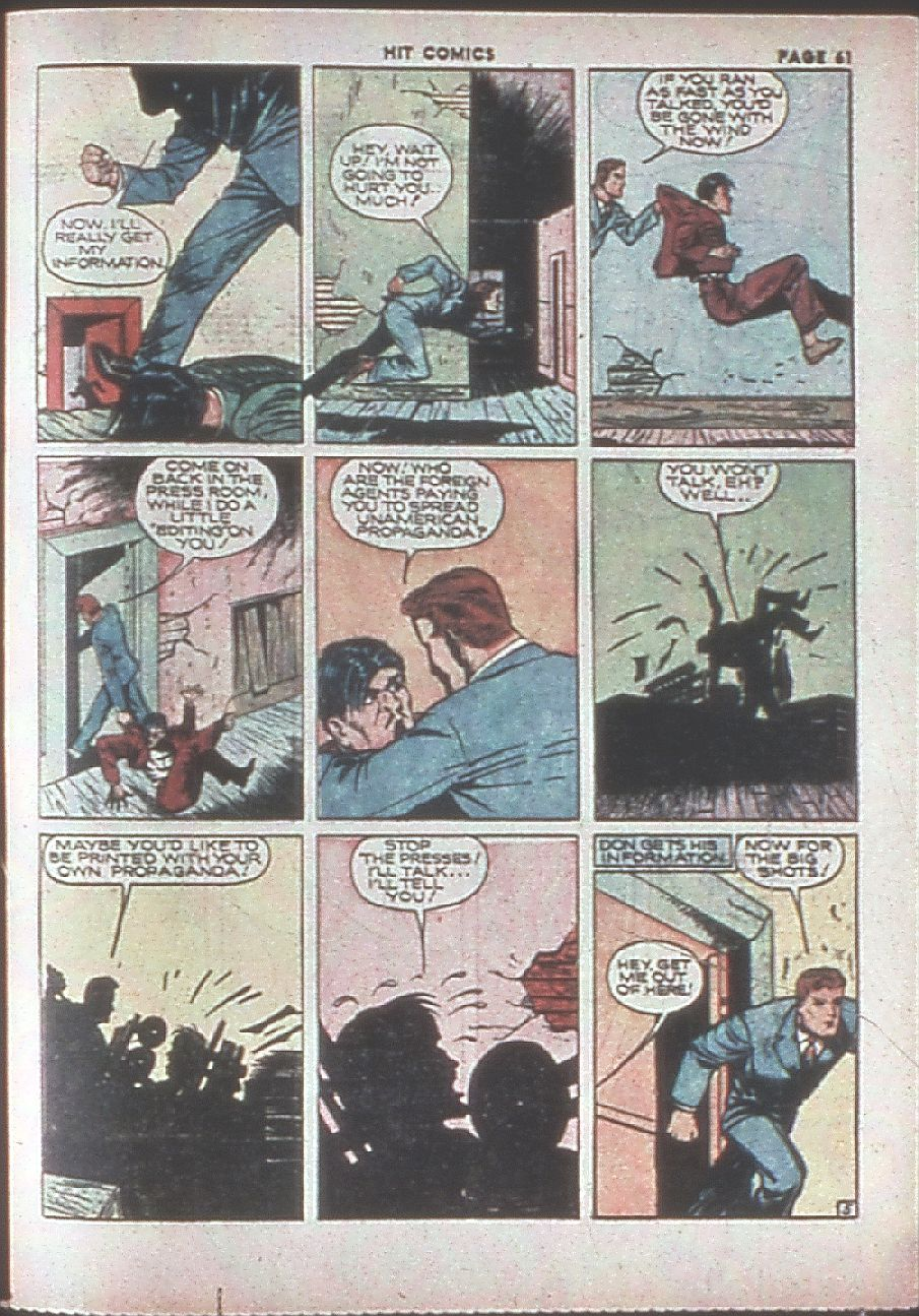 Read online Hit Comics comic -  Issue #8 - 63