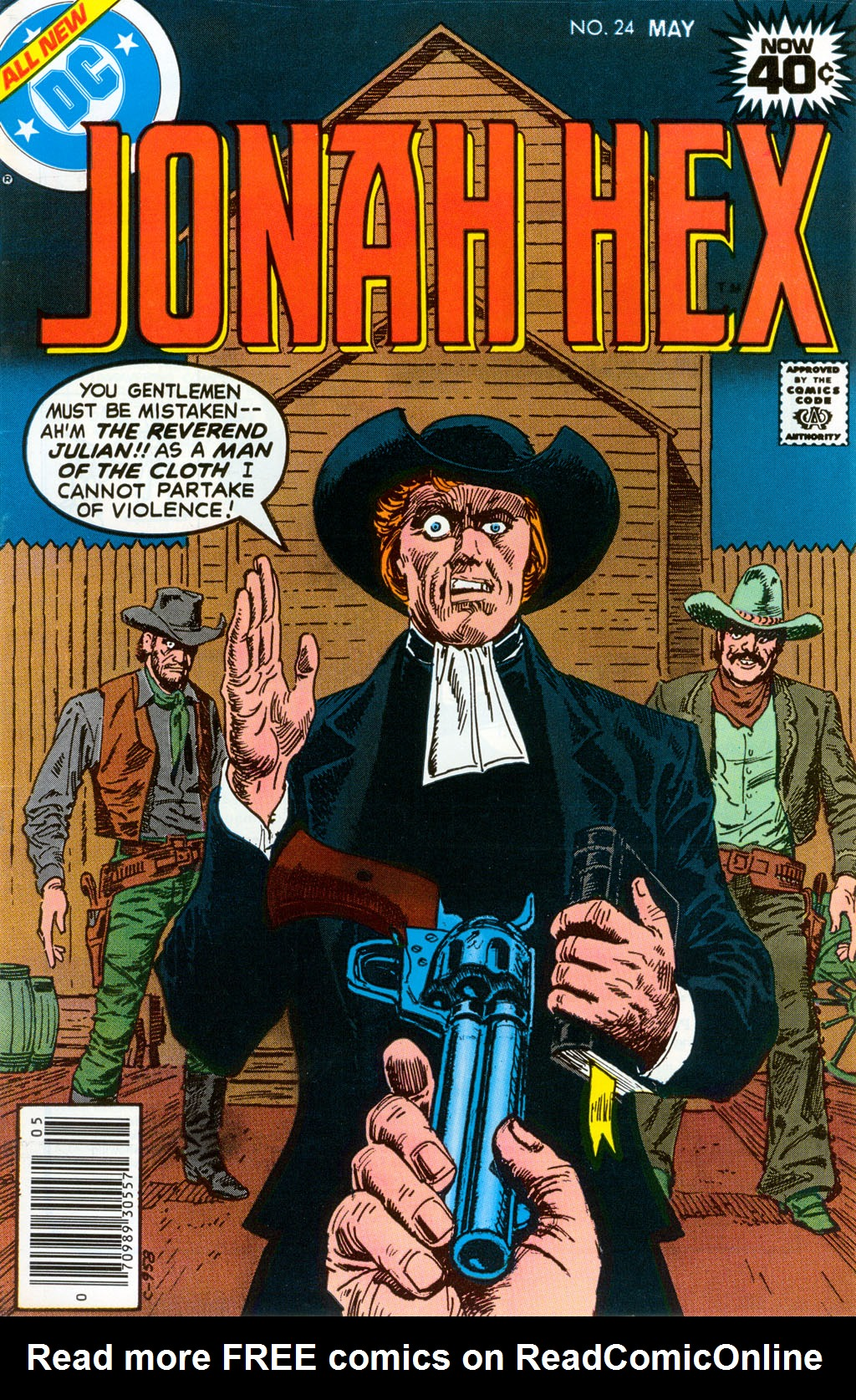 Jonah Hex (1977) 24 Page 1