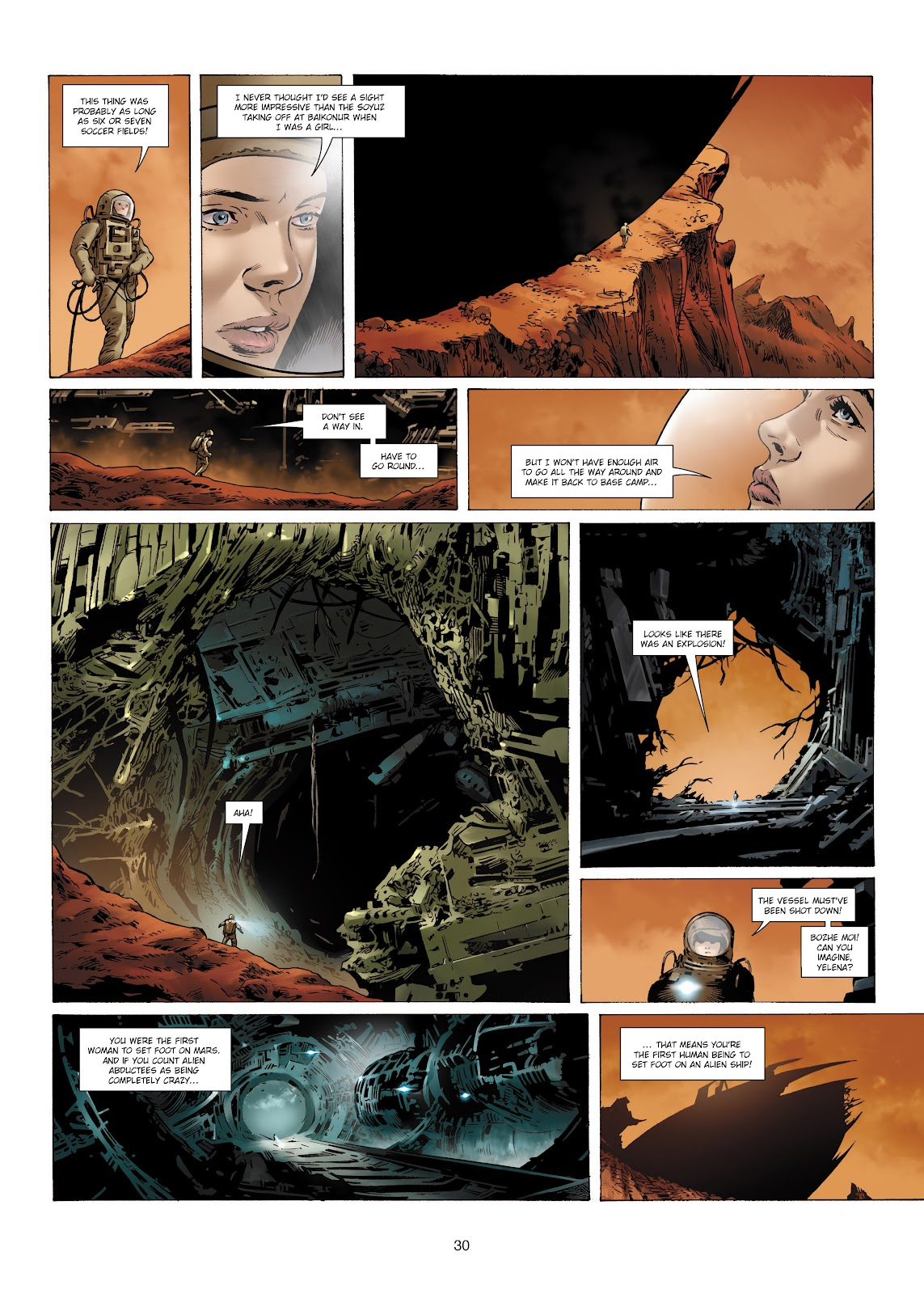 Read online Olympus Mons Vol. 1: Anomaly One comic -  Issue #4 - 28