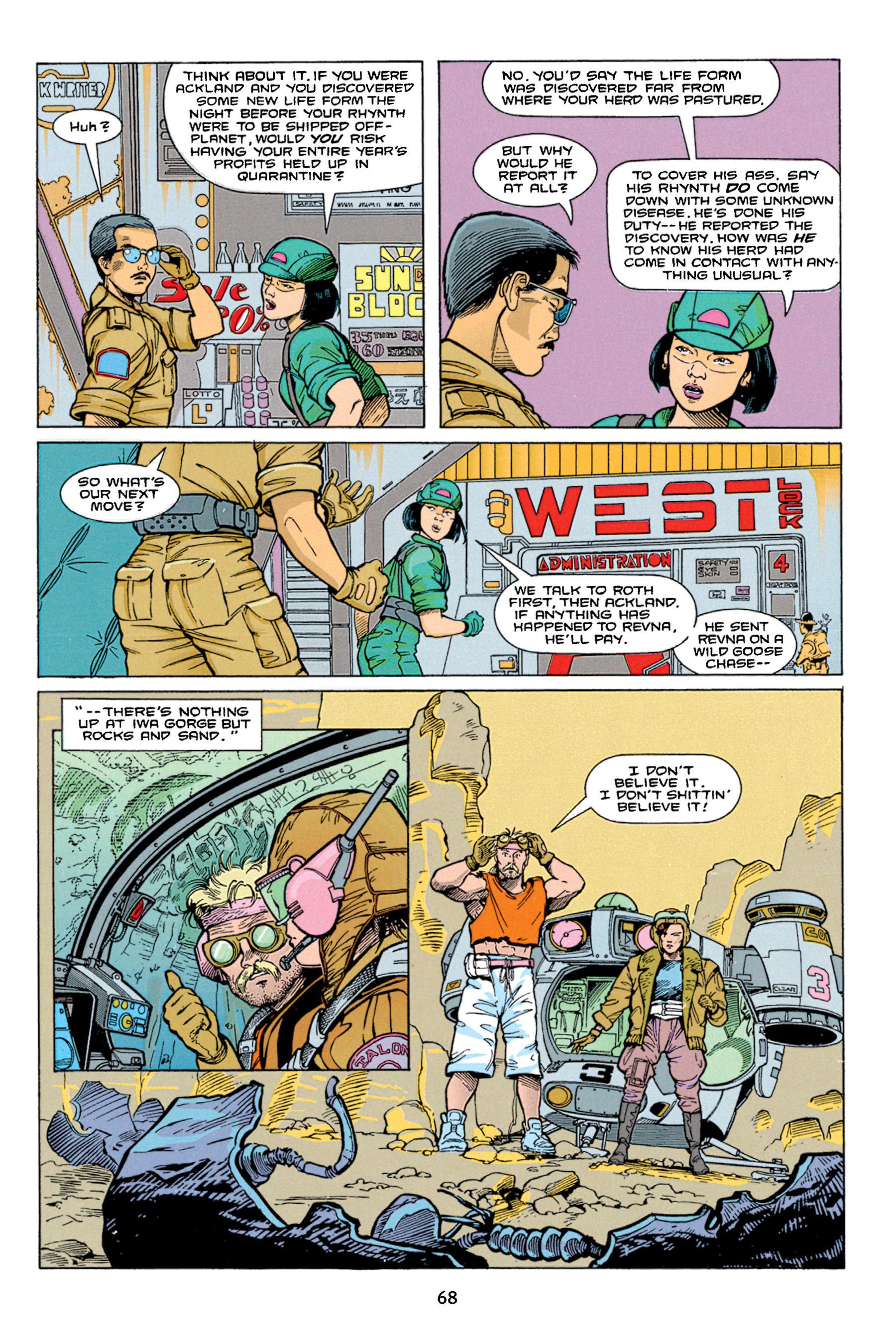Read online Aliens vs. Predator Omnibus comic -  Issue # _TPB 1 Part 1 - 68