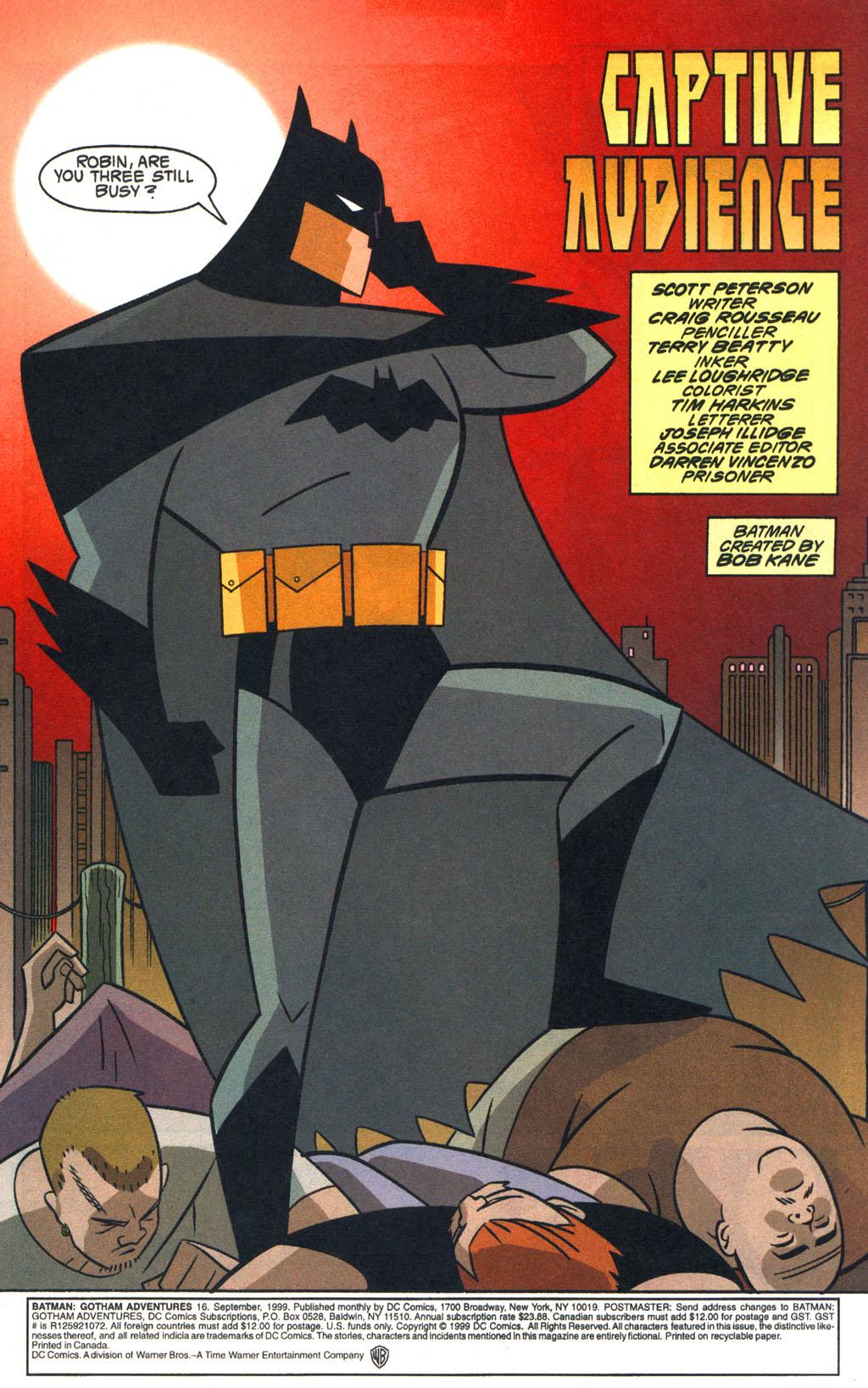 Batman: Gotham Adventures 16 Page 2
