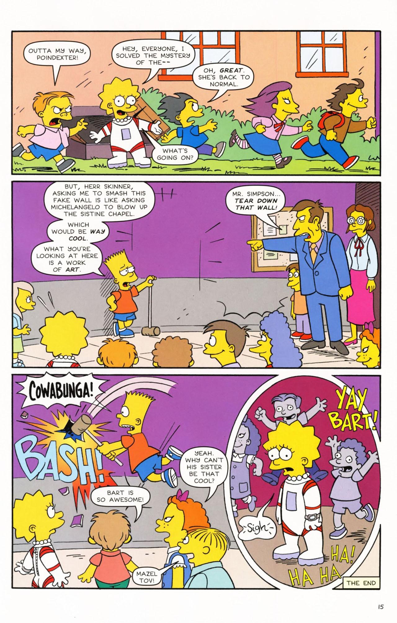 Read online Simpsons Comics Presents Bart Simpson comic -  Issue #53 - 17