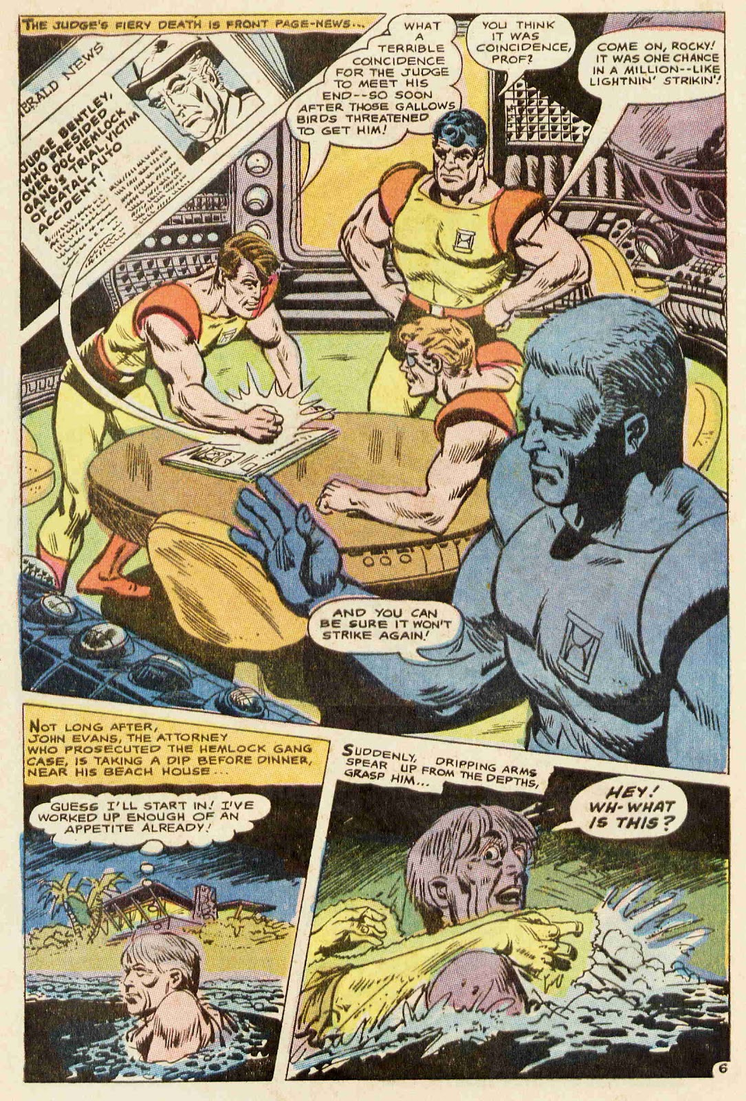 Challengers of the Unknown (1958) issue 64 - Page 7