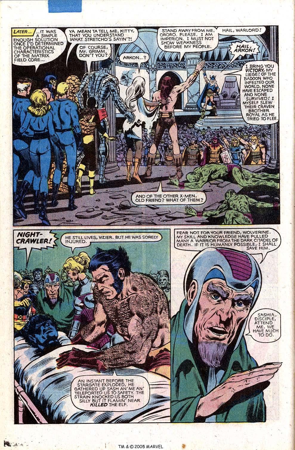 Read online Uncanny X-Men (1963) comic -  Issue # _Annual 5 - 44