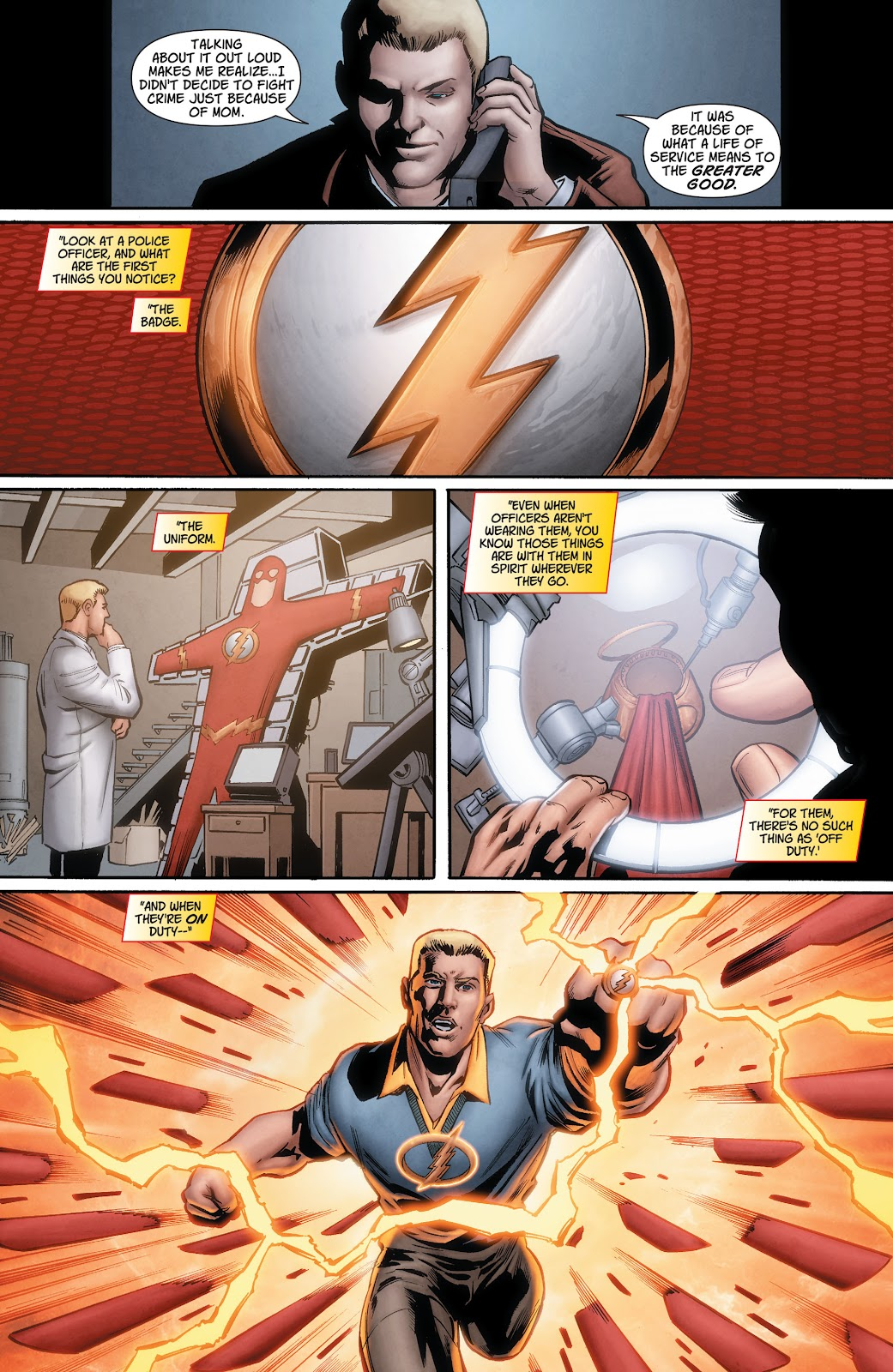 Read online The Flash (2011) comic -  Issue # _TPB 7 - 127