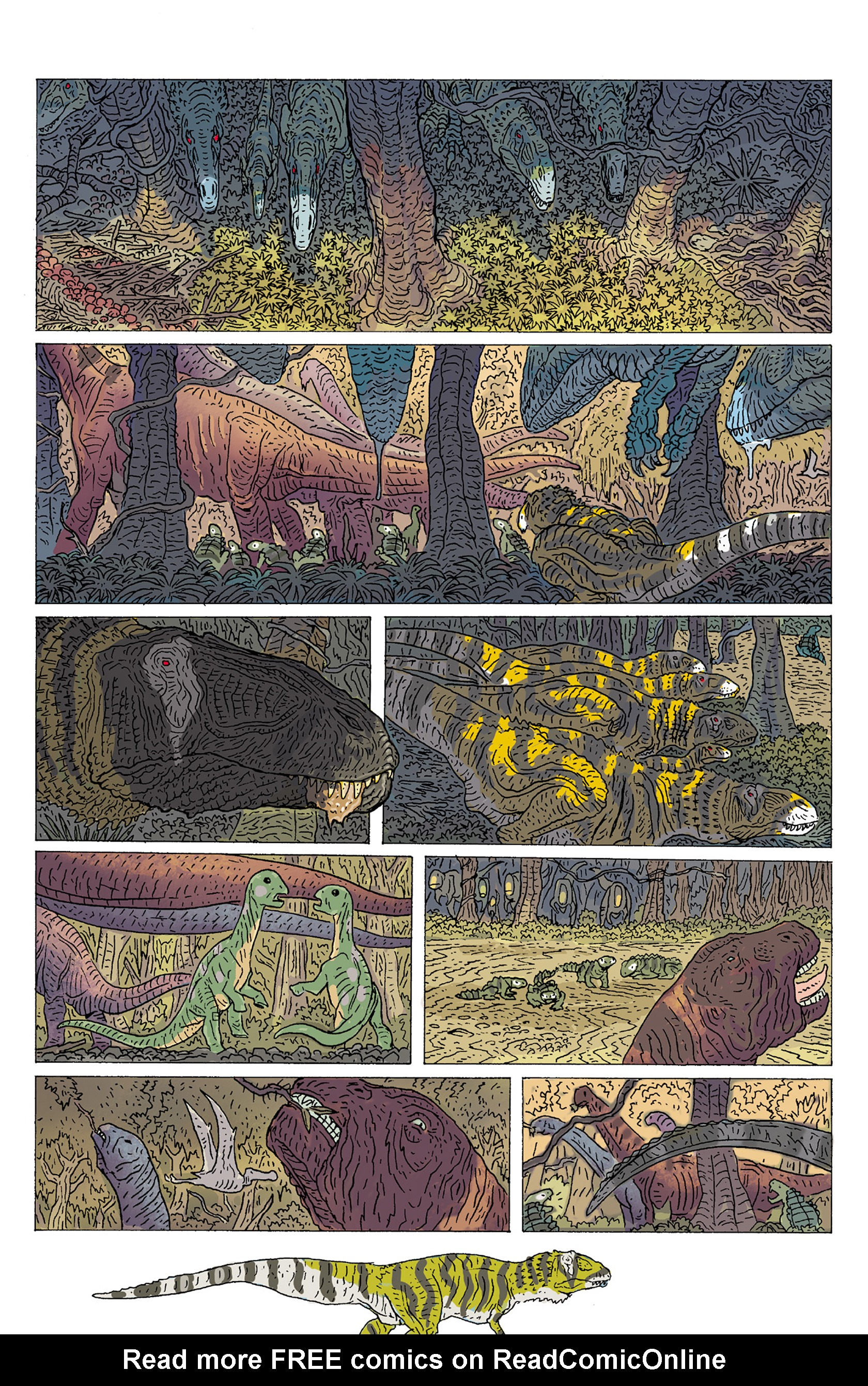 Read online Age of Reptiles: Ancient Egyptians comic -  Issue #2 - 4