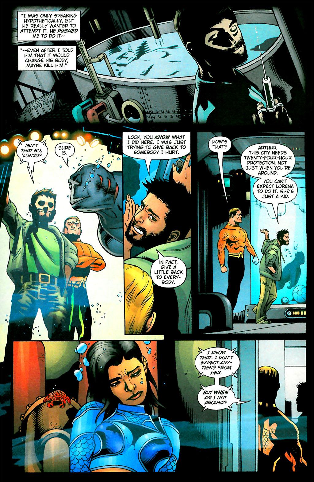 Read online Aquaman (2003) comic -  Issue #28 - 21