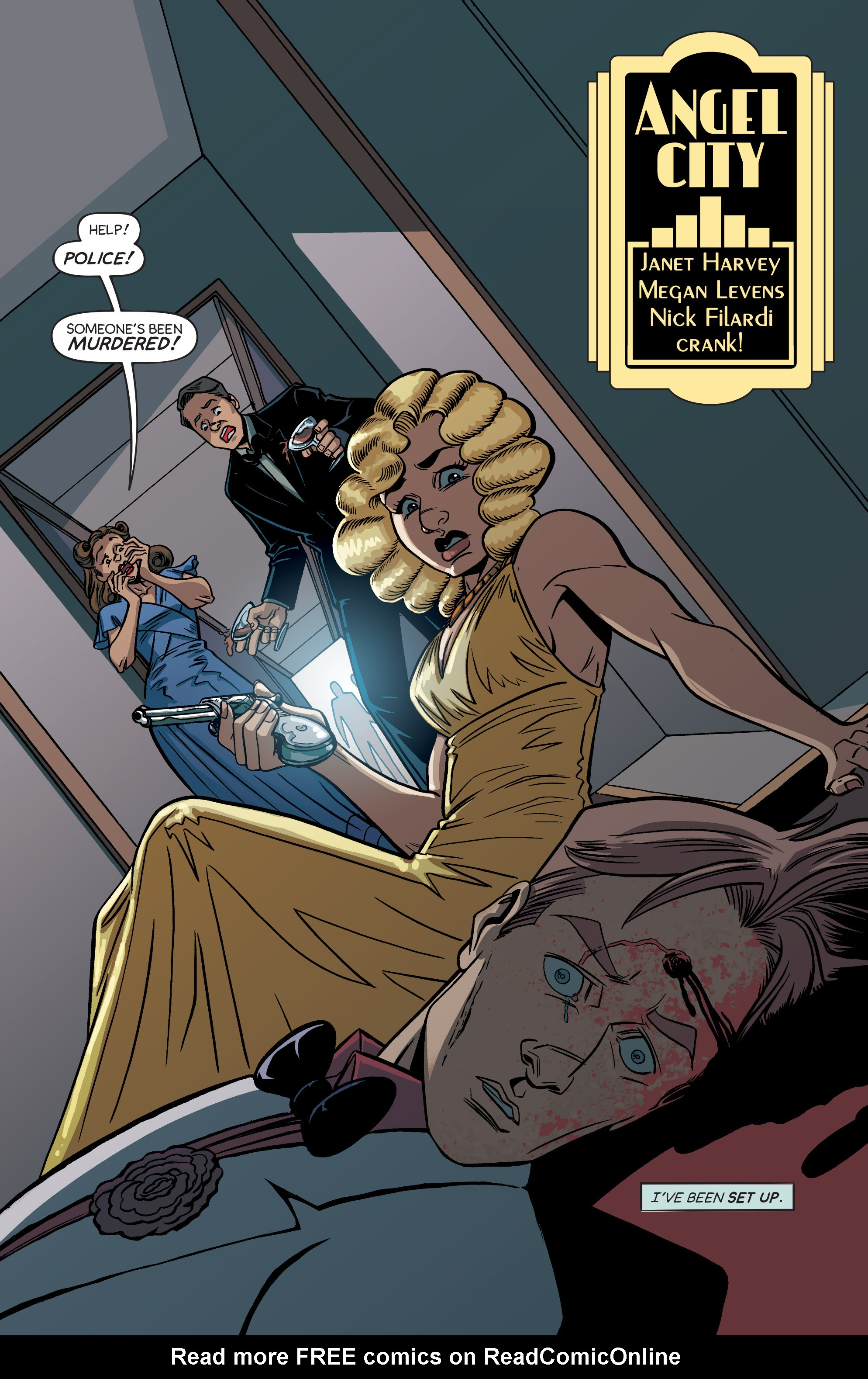 Read online Angel City comic -  Issue #5 - 3