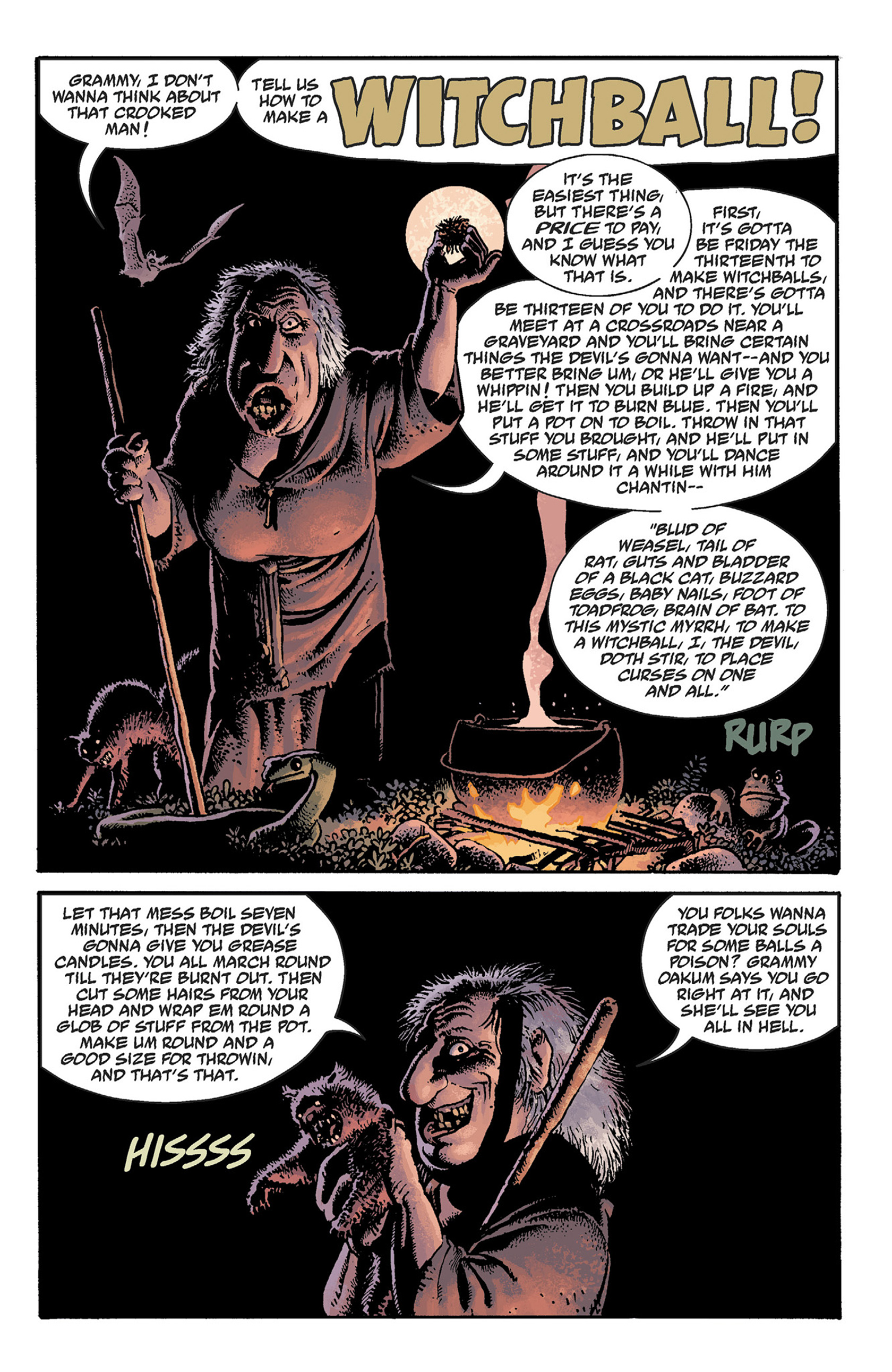 Read online Hellboy: The Crooked Man and Others comic -  Issue # TPB - 57
