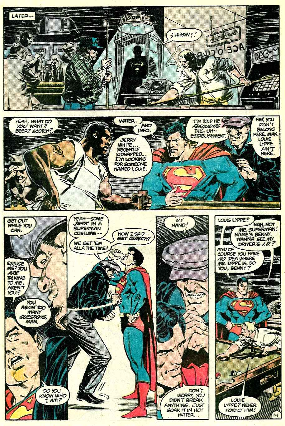 Read online Adventures of Superman (1987) comic -  Issue #428 - 14