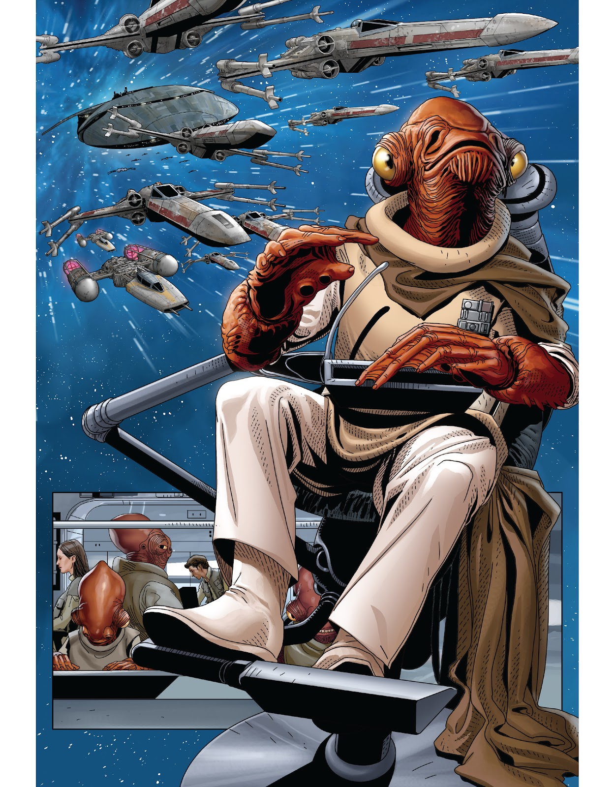 Read online The Marvel Art of Star Wars comic -  Issue # TPB (Part 2) - 23
