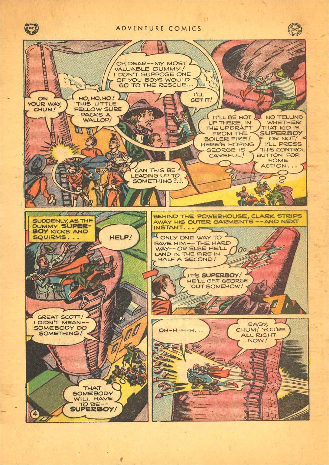 Read online Adventure Comics (1938) comic -  Issue #148 - 6