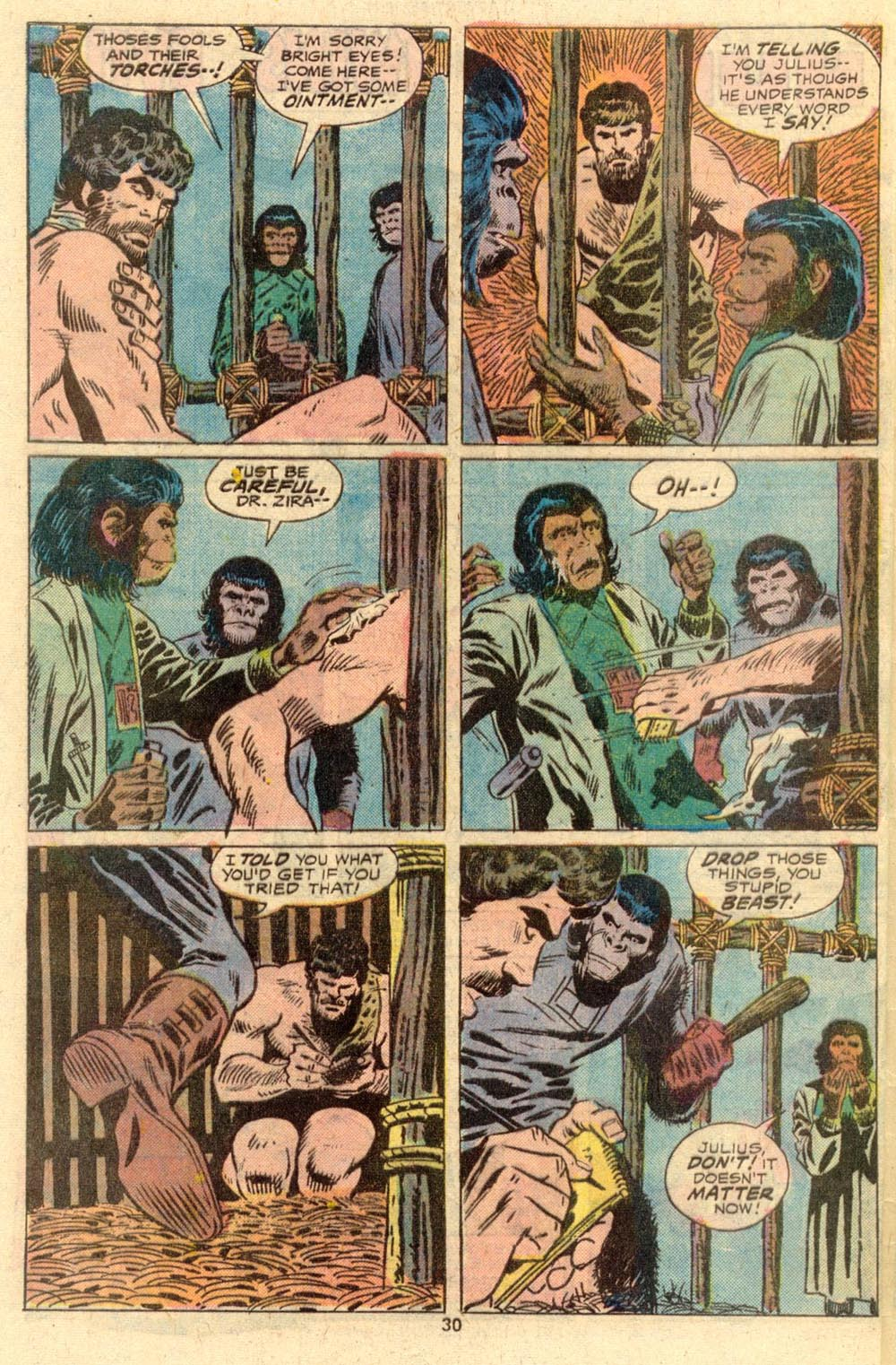 Read online Adventures on the Planet of the Apes comic -  Issue #2 - 21