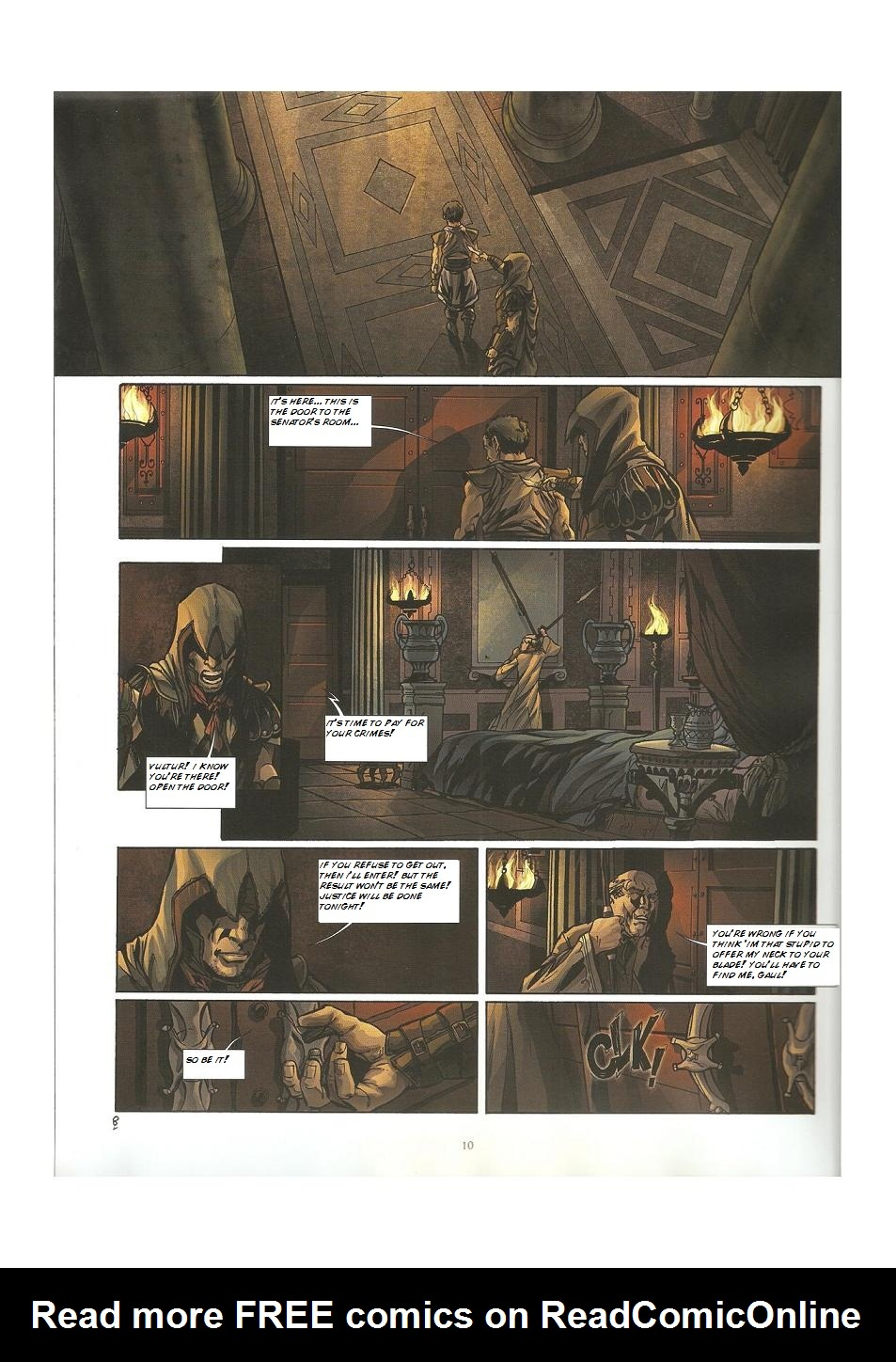 Read online Assassin's Creed (2009) comic -  Issue #3 - 10
