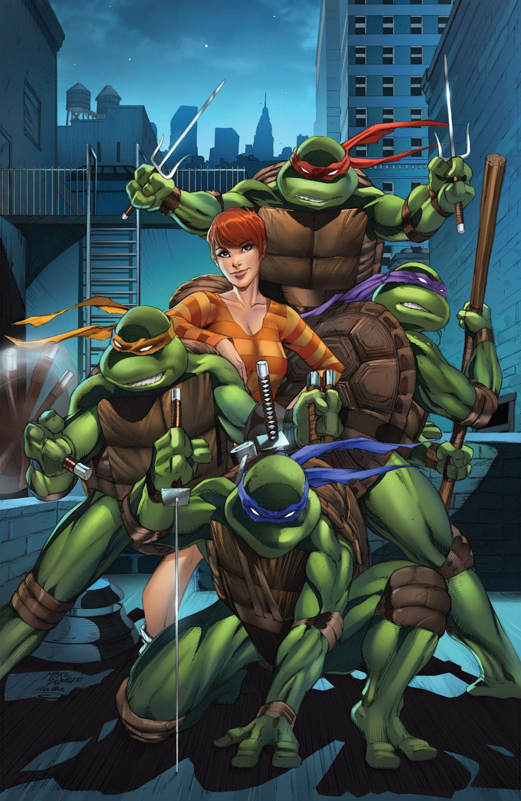 Read online Teenage Mutant Ninja Turtles: The IDW Collection comic -  Issue # TPB 4 (Part 3) - 123