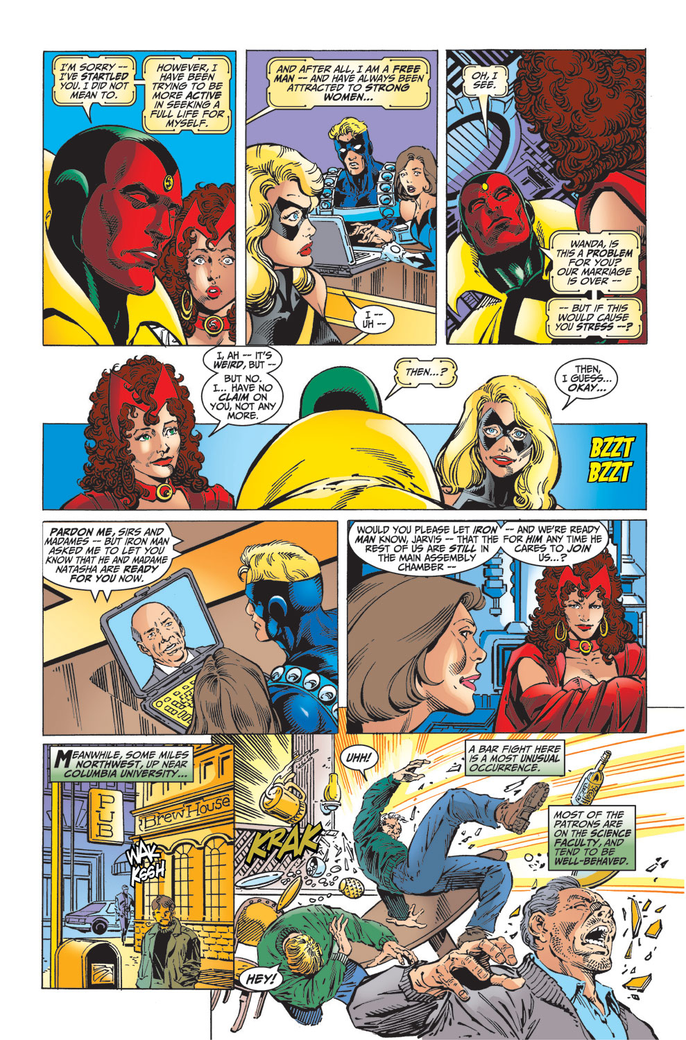 Read online Avengers (1998) comic -  Issue #32 - 7