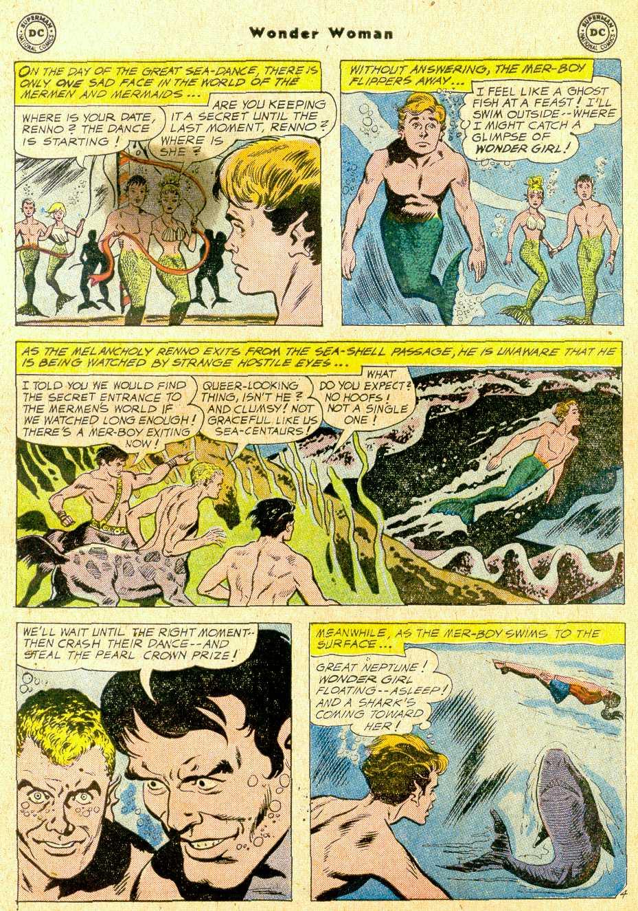 Read online Wonder Woman (1942) comic -  Issue #111 - 25