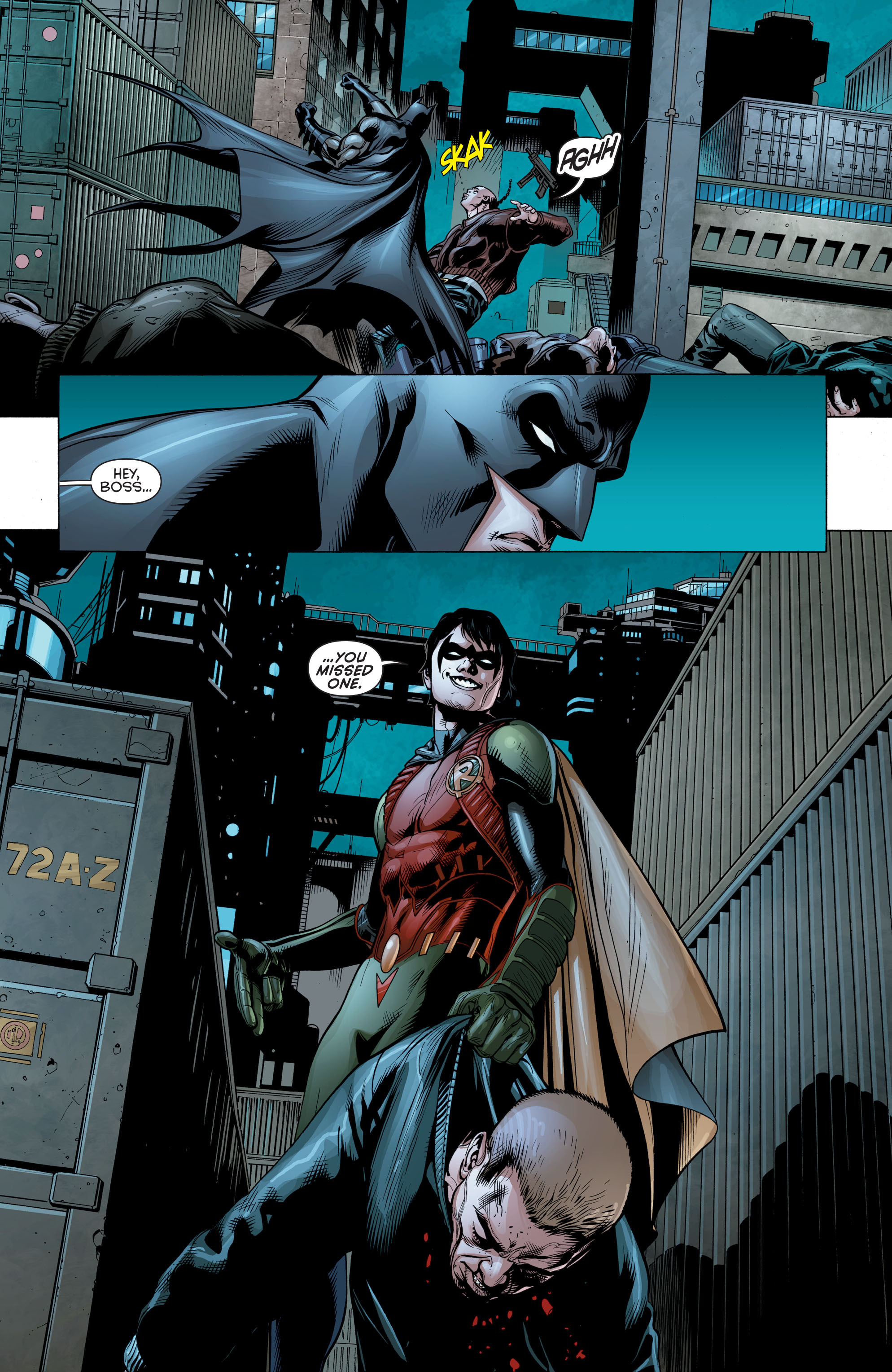 Read online Batman and Robin (2011) comic -  Issue # Annual 2 - 14
