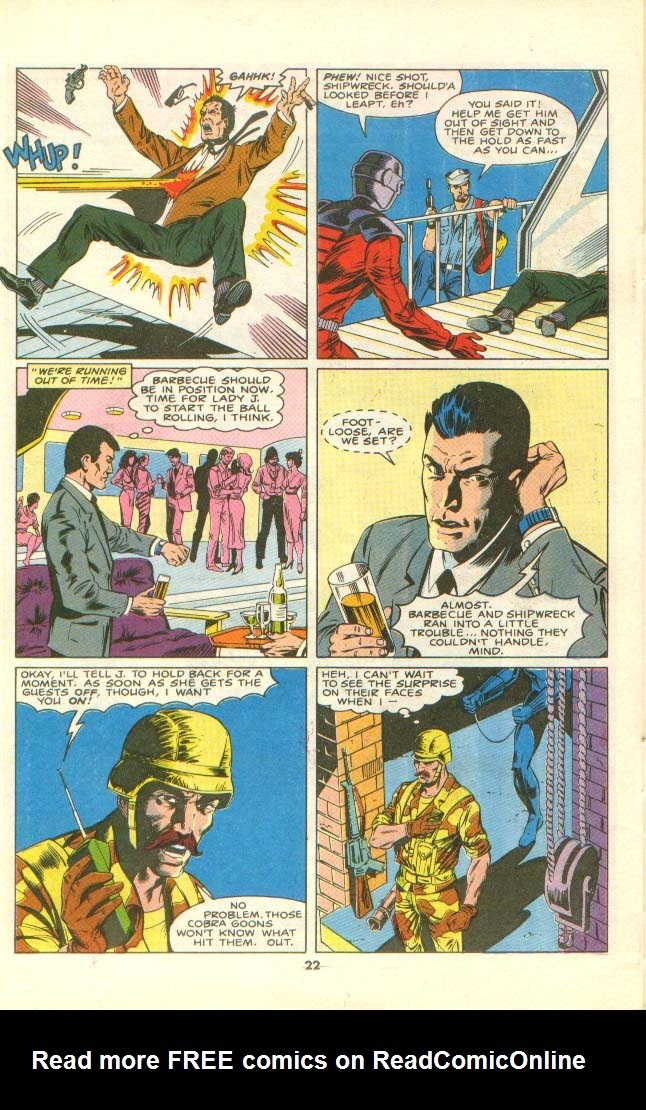 G.I. Joe European Missions issue 8 - Page 18