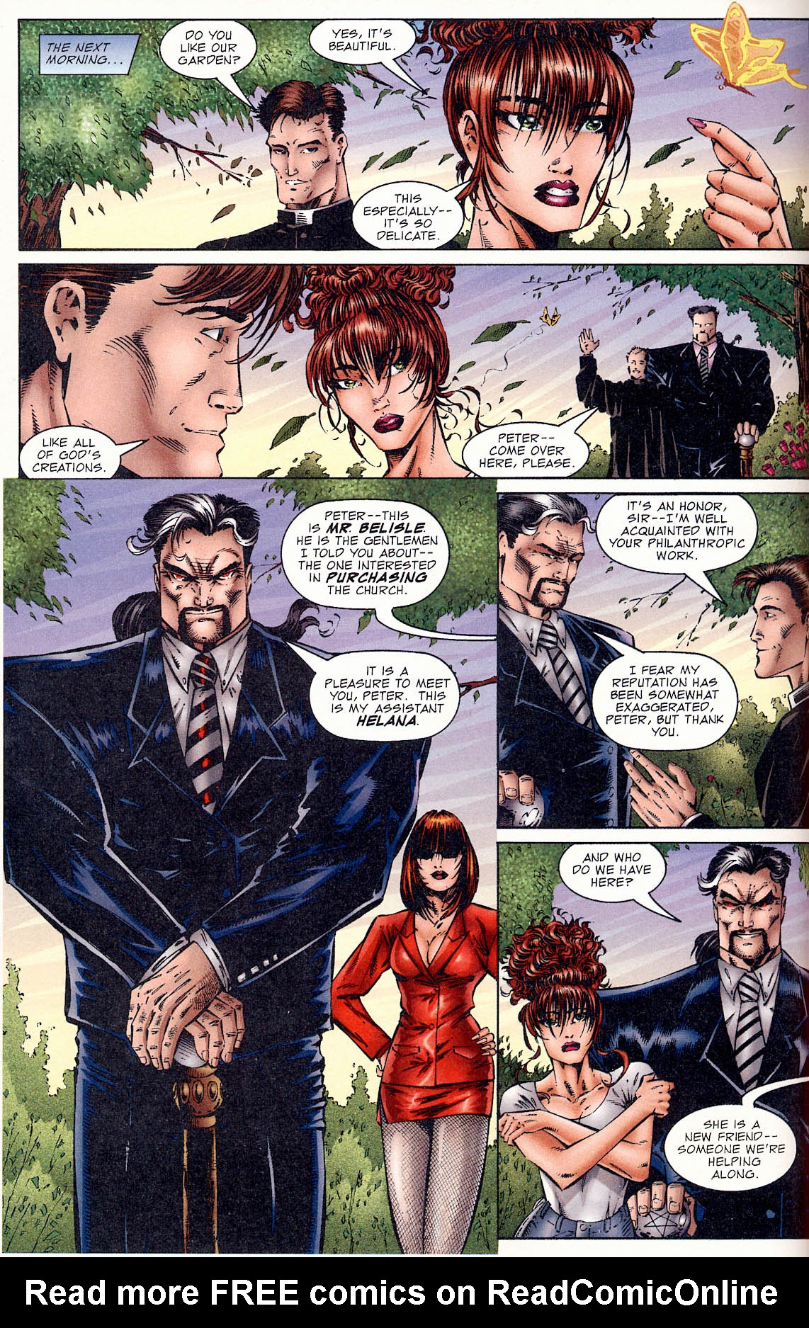 Read online Avengelyne (1995) comic -  Issue #1 - 12
