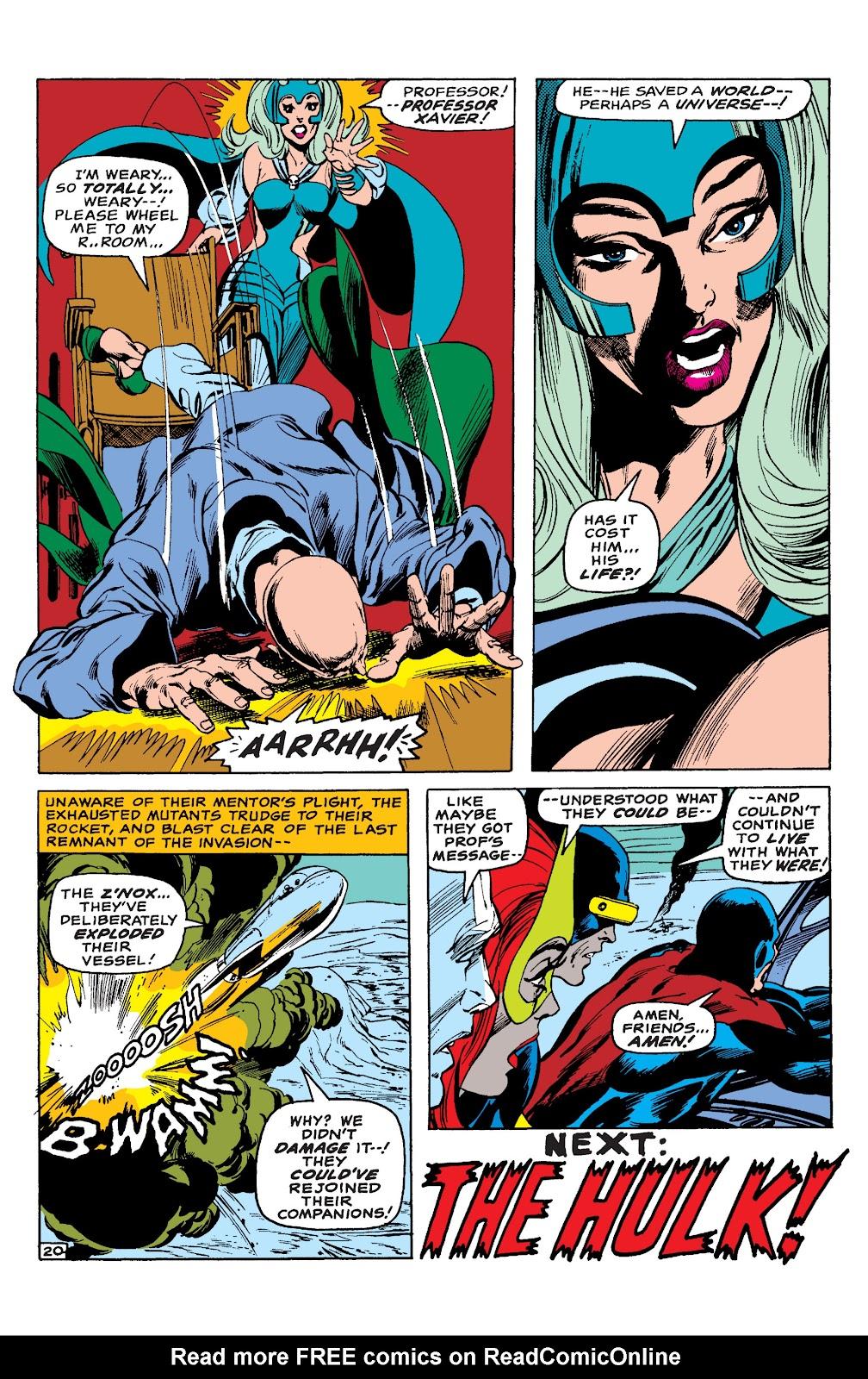 Uncanny X-Men (1963) issue 65 - Page 21