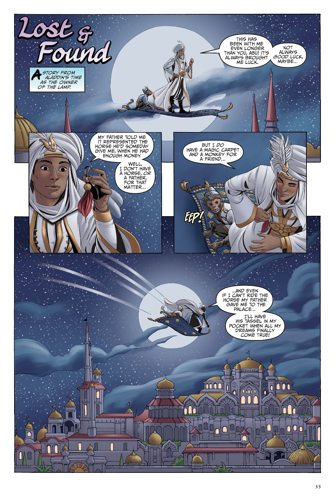 Read online Disney Aladdin: Four Tales of Agrabah comic -  Issue # TPB - 35