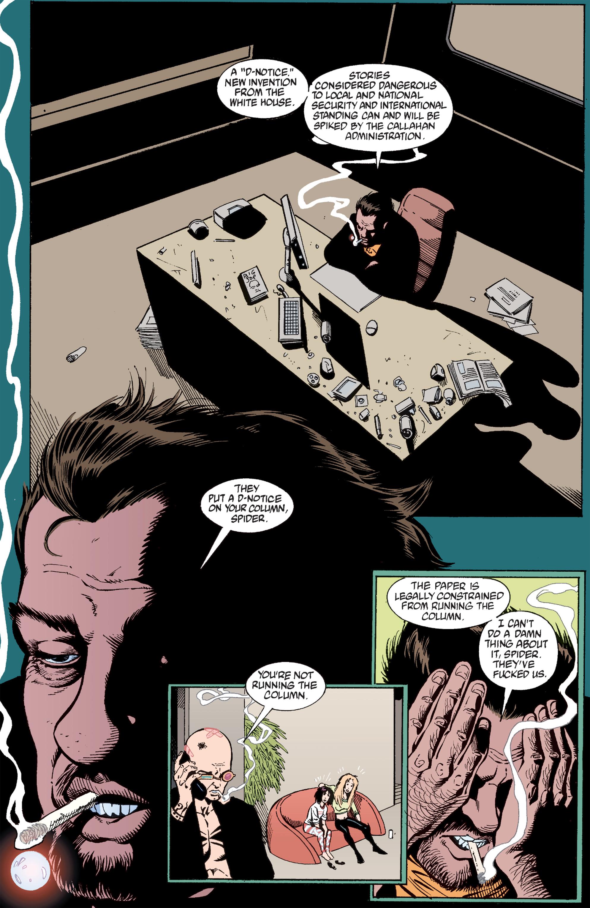 Read online Transmetropolitan comic -  Issue #30 - 19