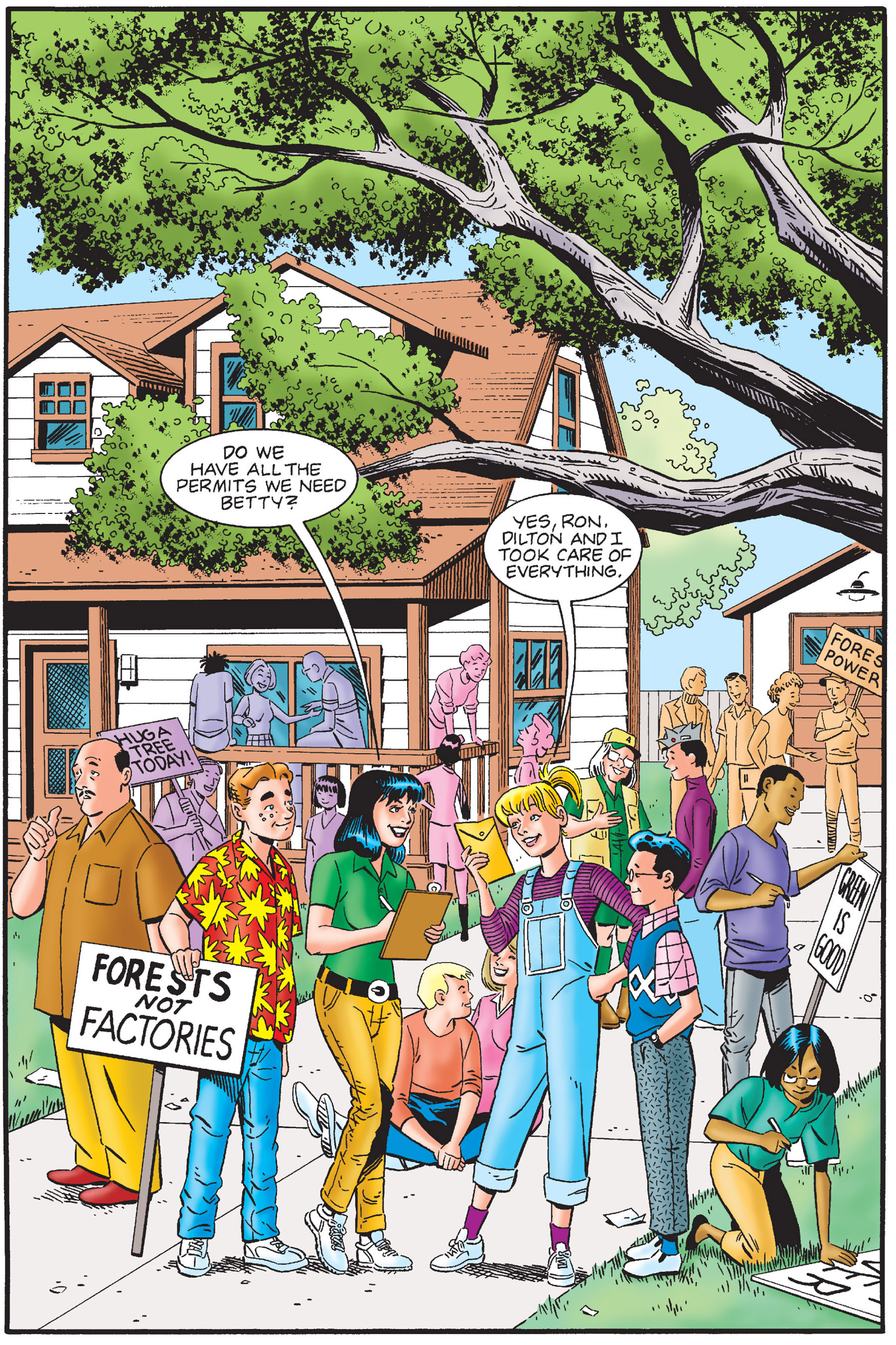 Read online Archie's New Look Series comic -  Issue #4 - 75