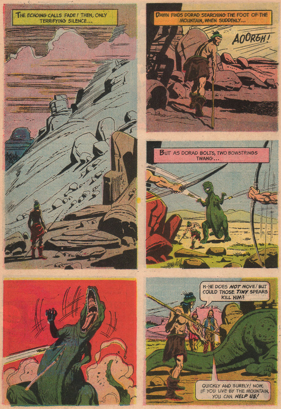 Read online Turok, Son of Stone comic -  Issue #48 - 6