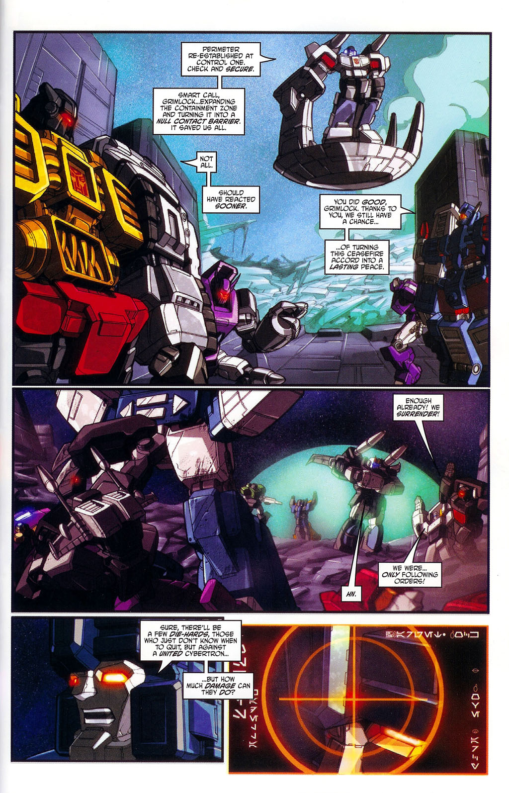 """Read online Transformers War Within: """"The Age of Wrath"""" comic -  Issue #1 - 22"""