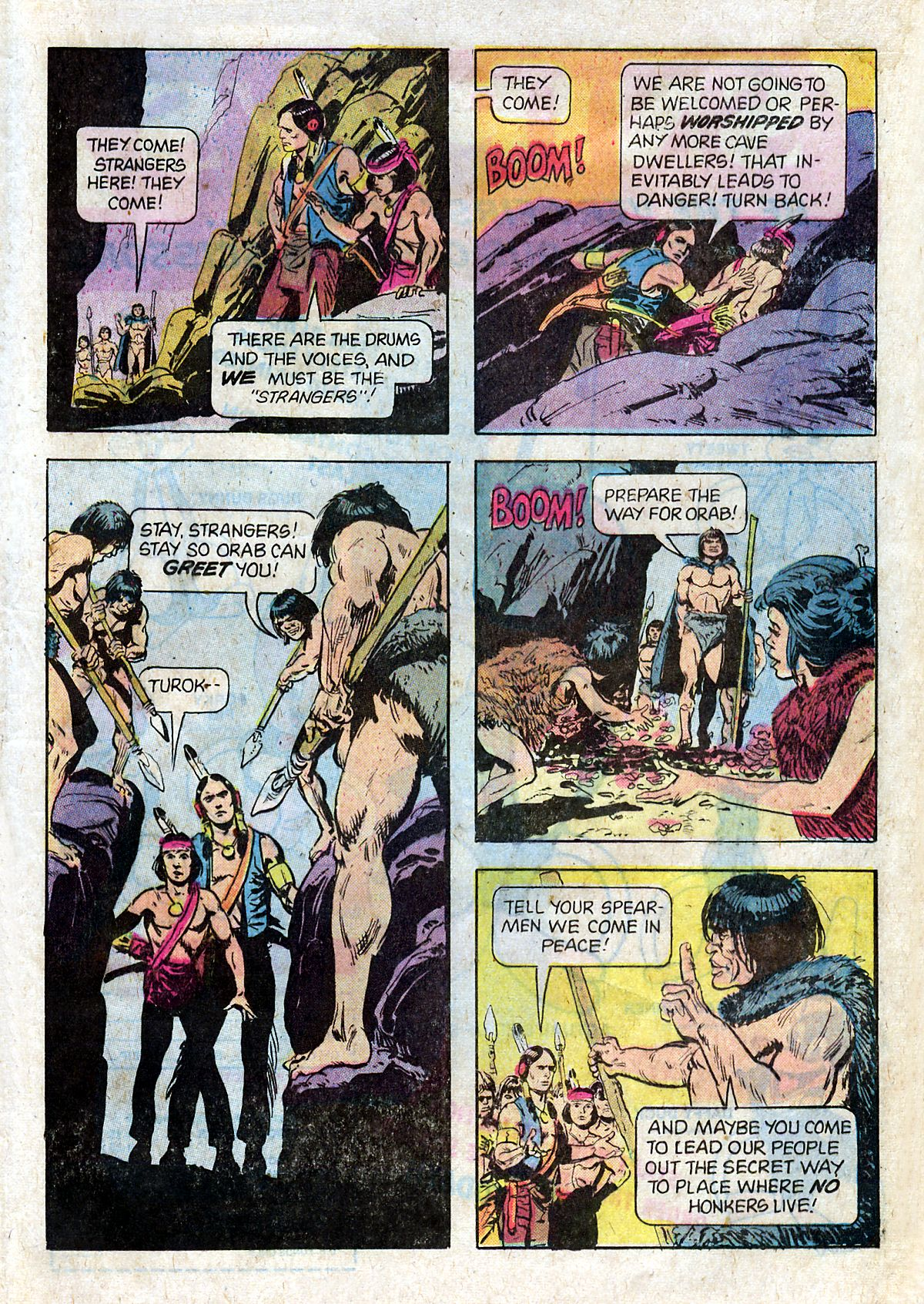 Read online Turok, Son of Stone comic -  Issue #124 - 21
