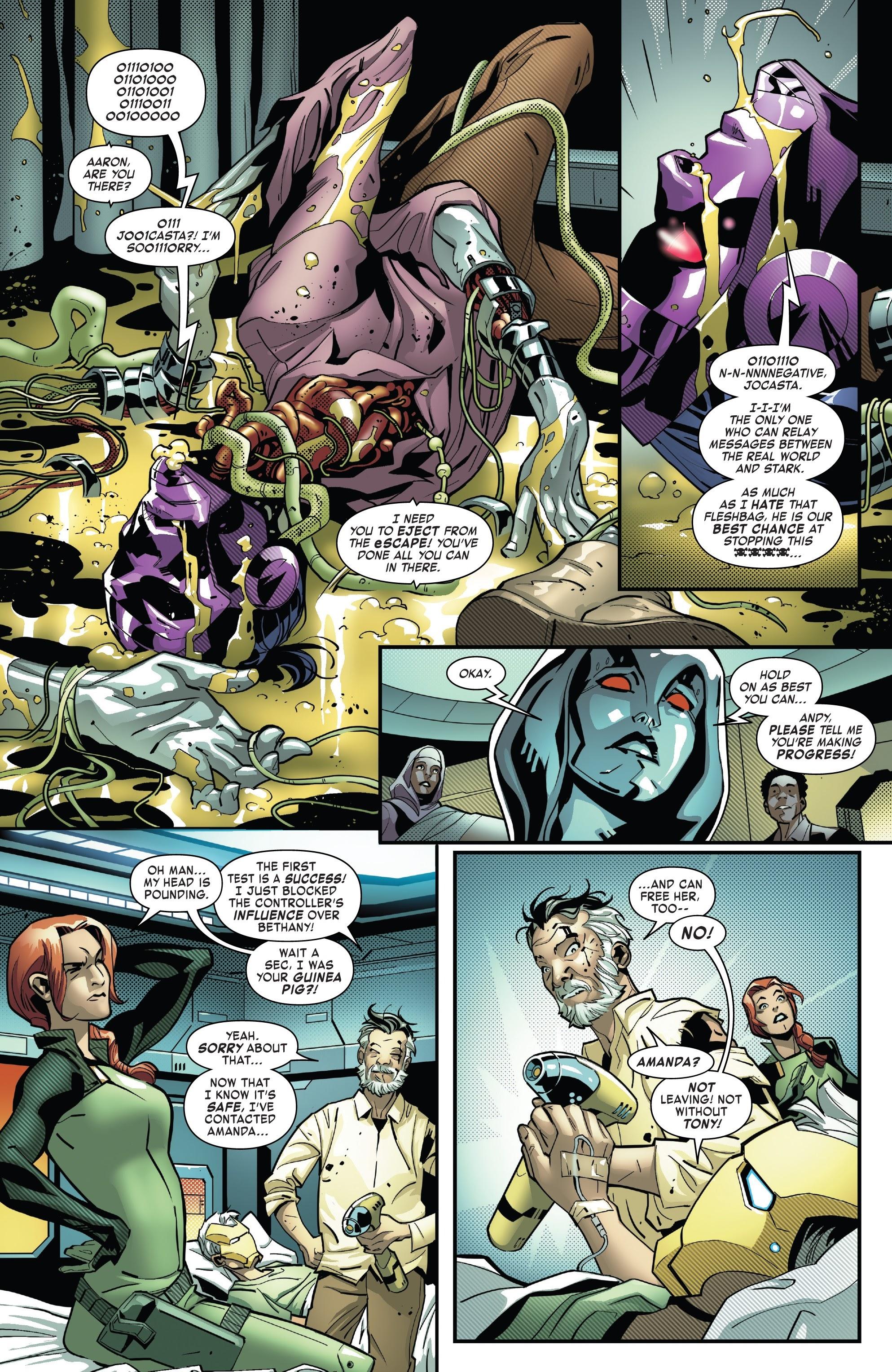 Read online Tony Stark: Iron Man comic -  Issue #10 - 11
