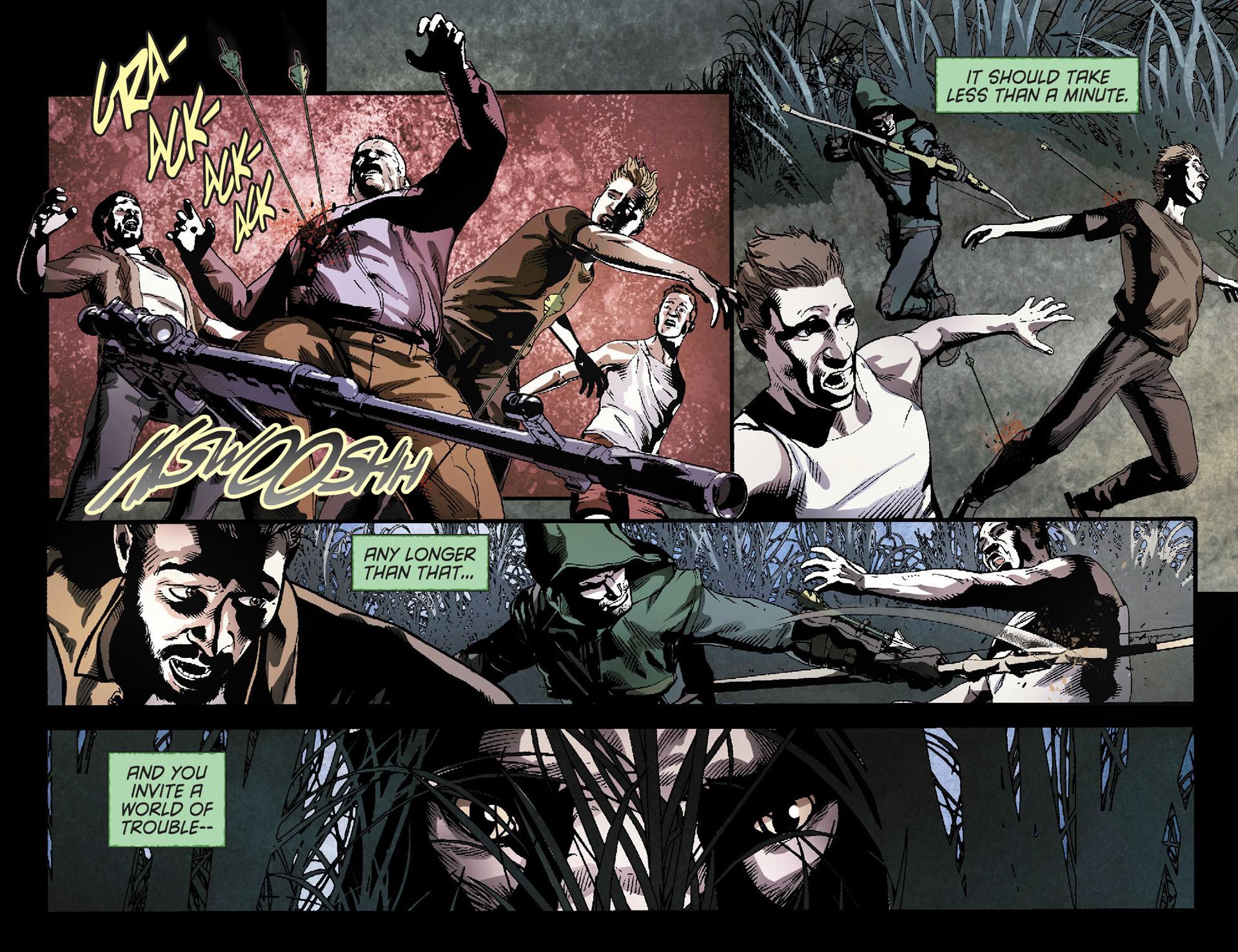 Read online Arrow [II] comic -  Issue #23 - 5