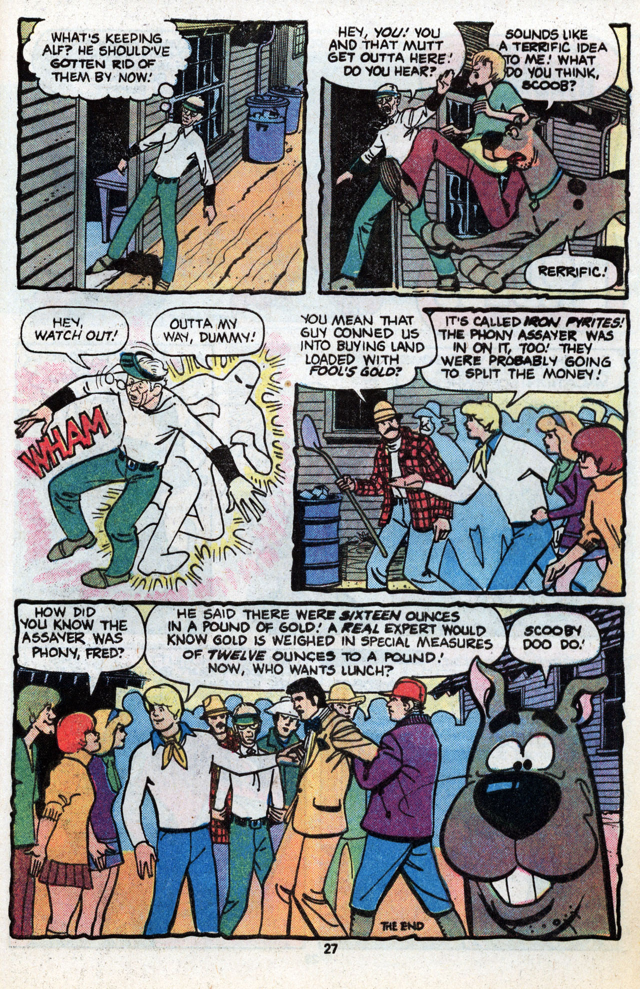 Read online Scooby-Doo (1977) comic -  Issue #6 - 28