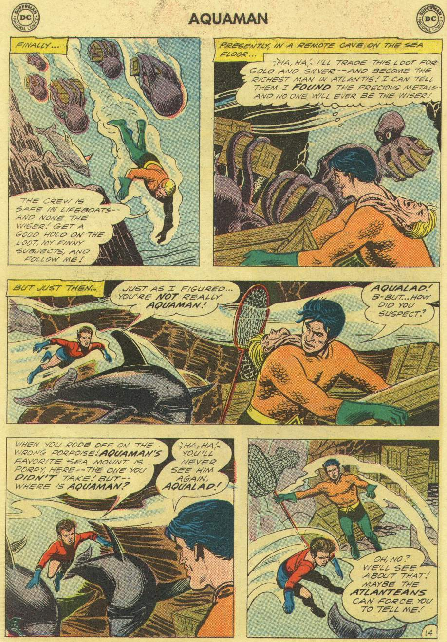 Read online Aquaman (1962) comic -  Issue #3 - 18