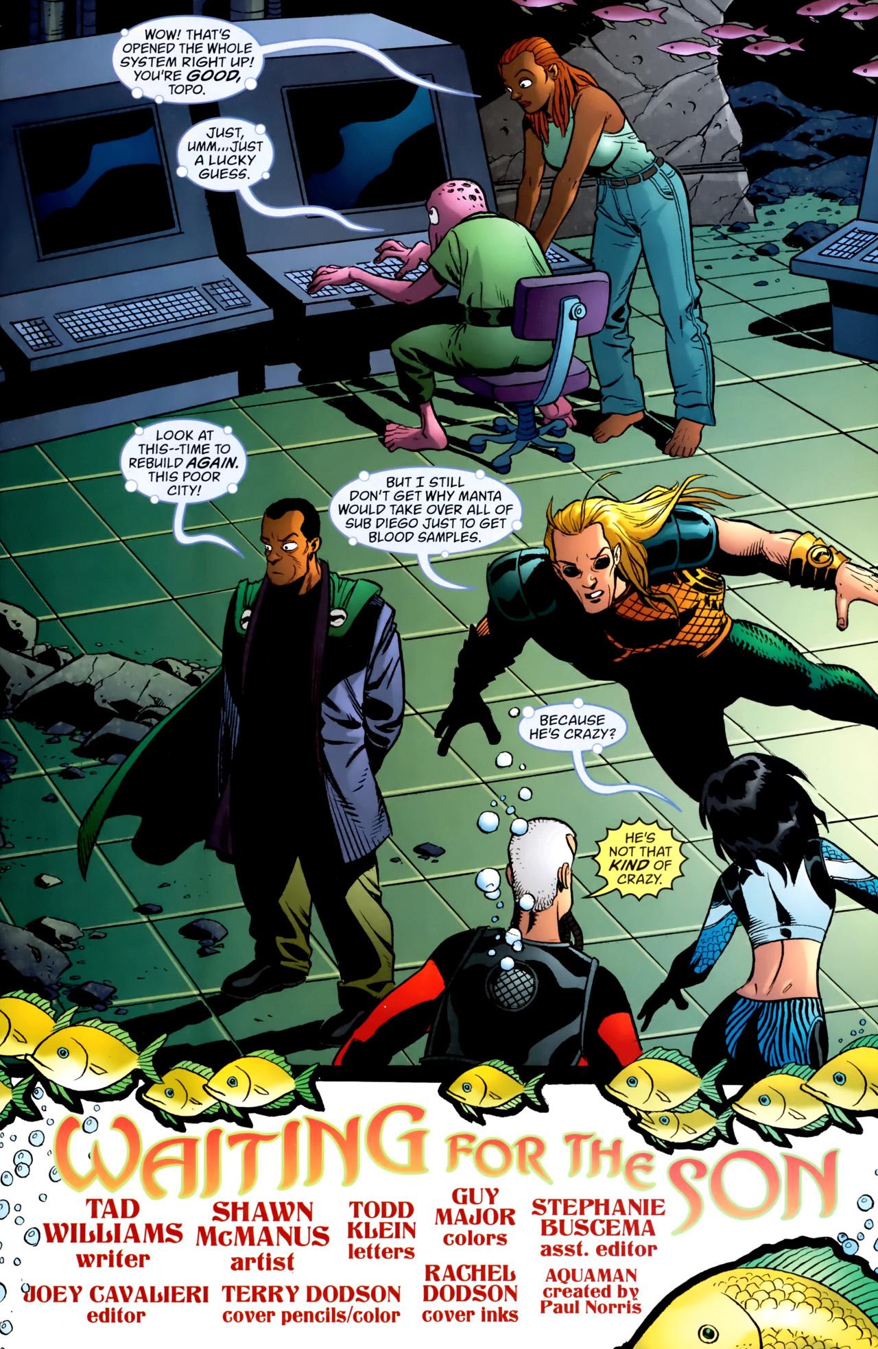 Read online Aquaman: Sword of Atlantis comic -  Issue #54 - 2