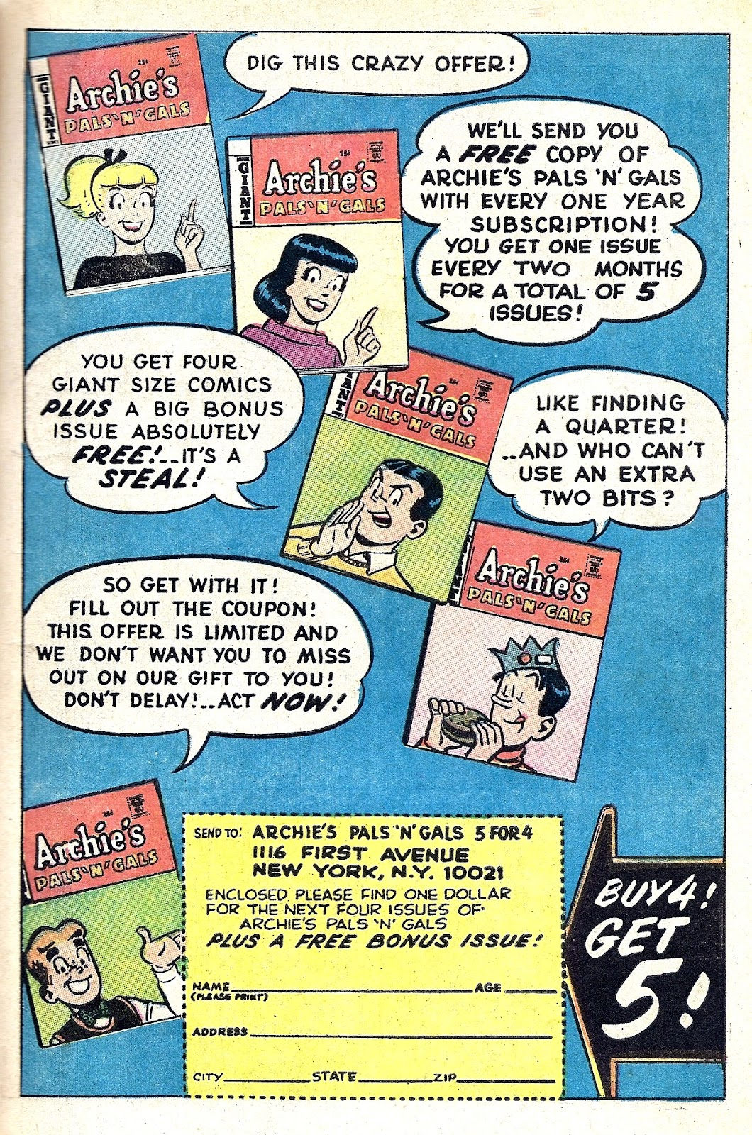 Archie's Madhouse issue Annual 6 - Page 31