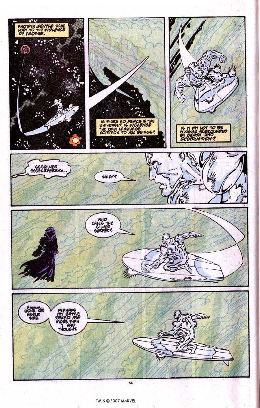 Read online Silver Surfer (1987) comic -  Issue # _Annual 3 - 56