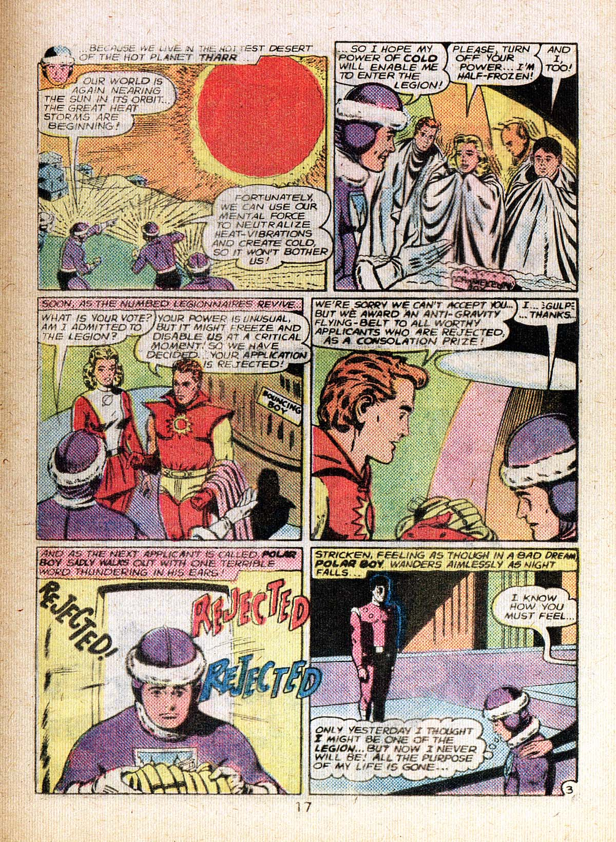 Read online Adventure Comics (1938) comic -  Issue #500 - 17