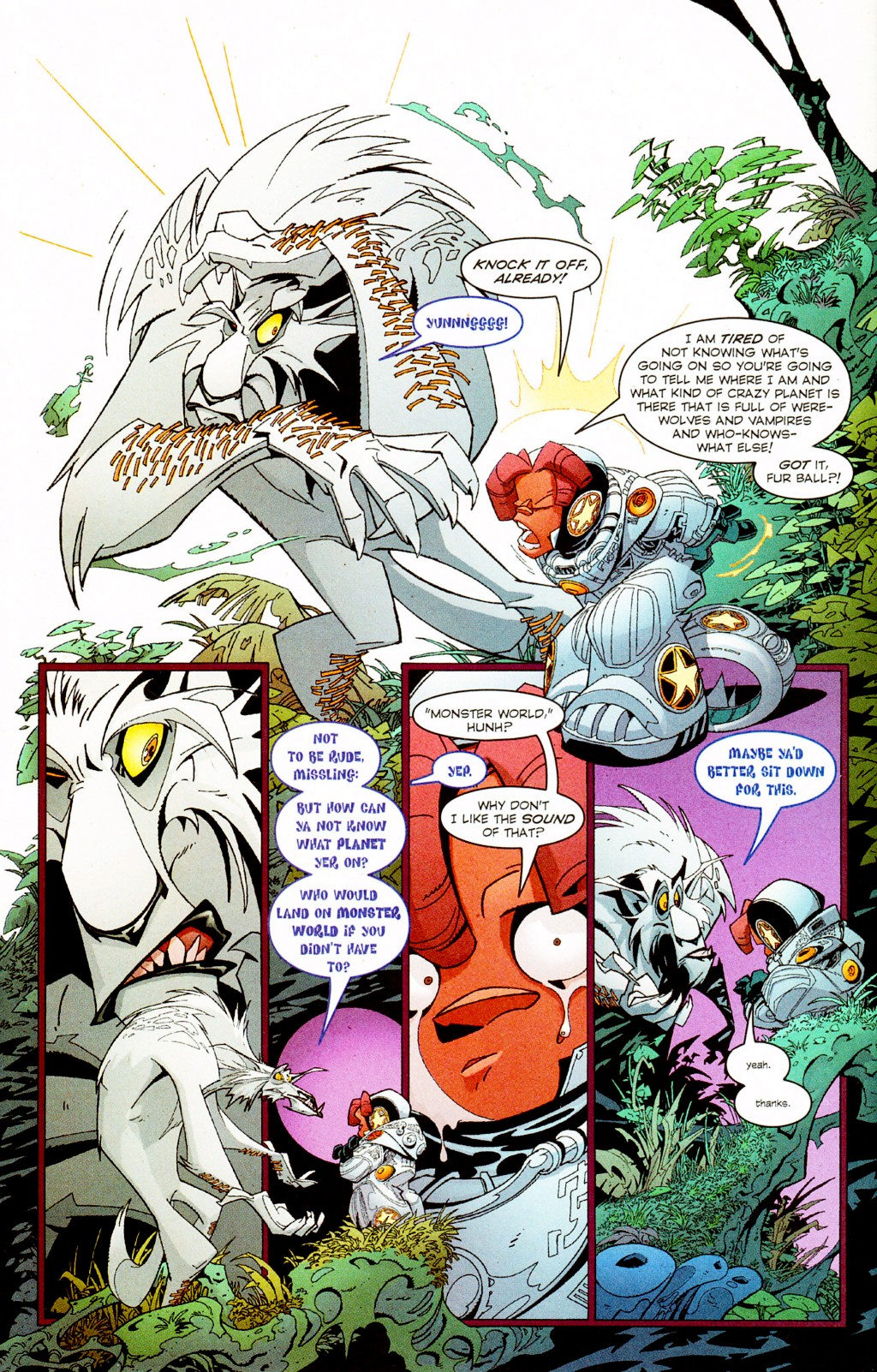 Read online Monster World (Existed) comic -  Issue #2 - 17