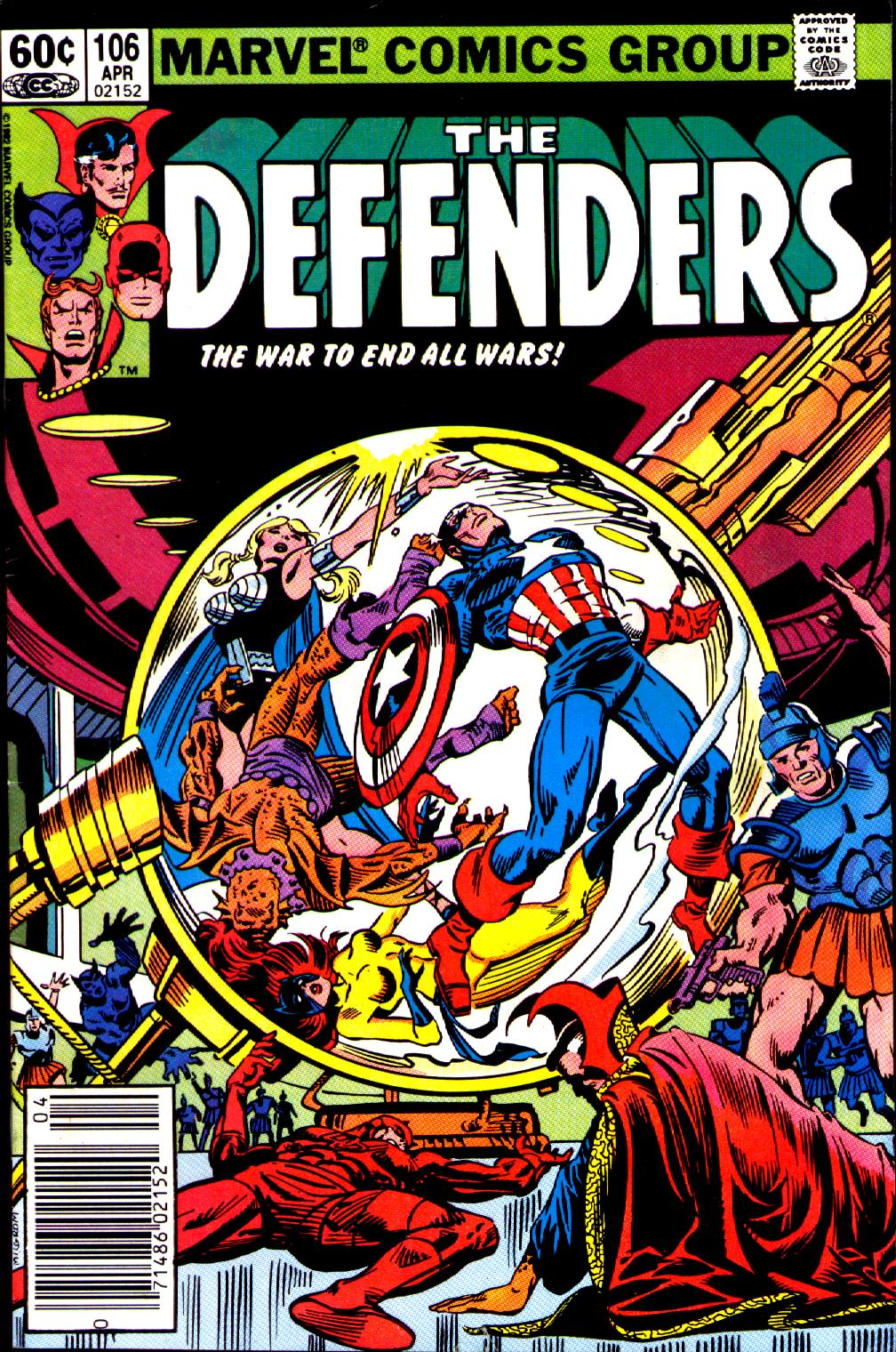 The Defenders (1972) issue 106 - Page 1