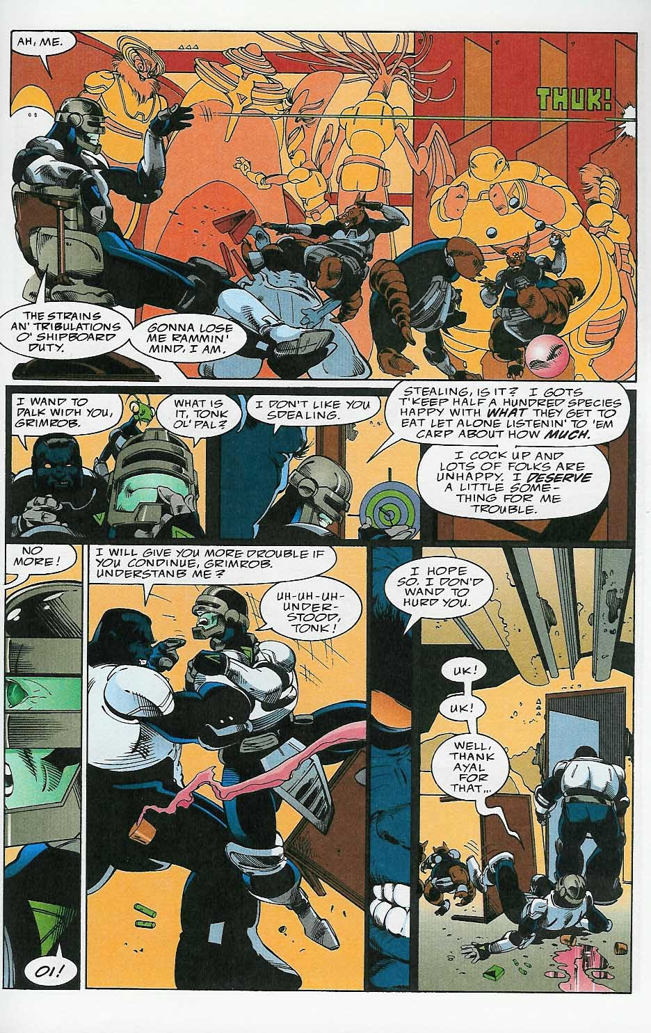 Alien Legion: On the Edge issue 2 - Page 18