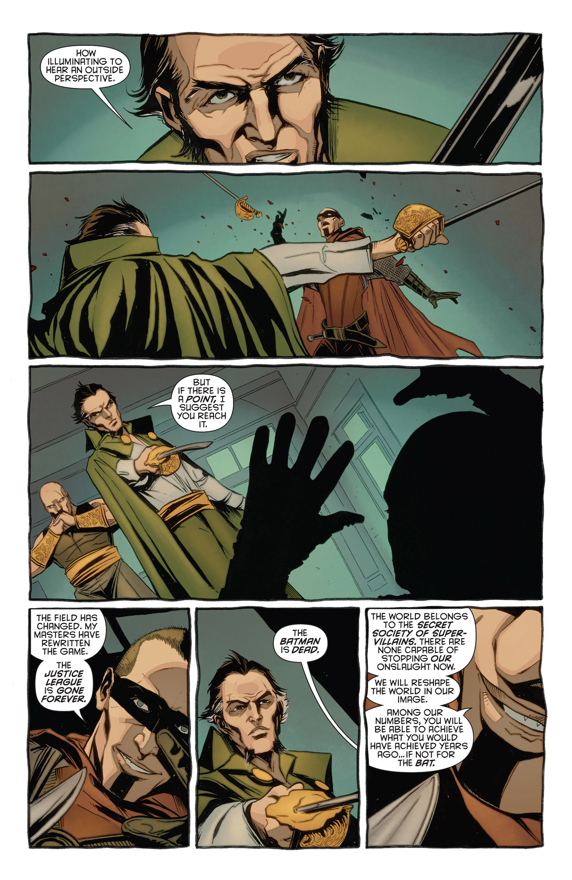Read online Batman and Robin (2011) comic -  Issue #23.3 - 14