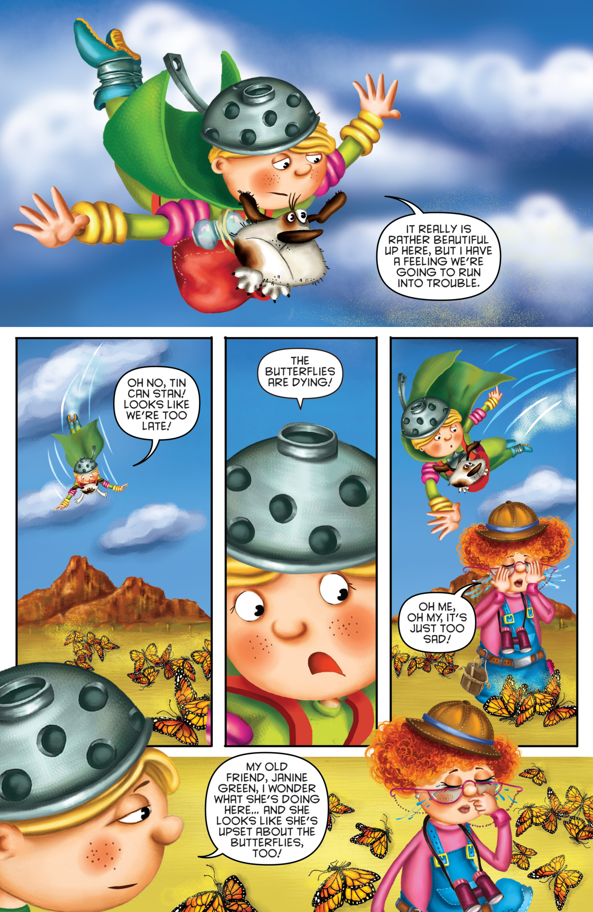 Read online Michael Recycle comic -  Issue #3 - 8