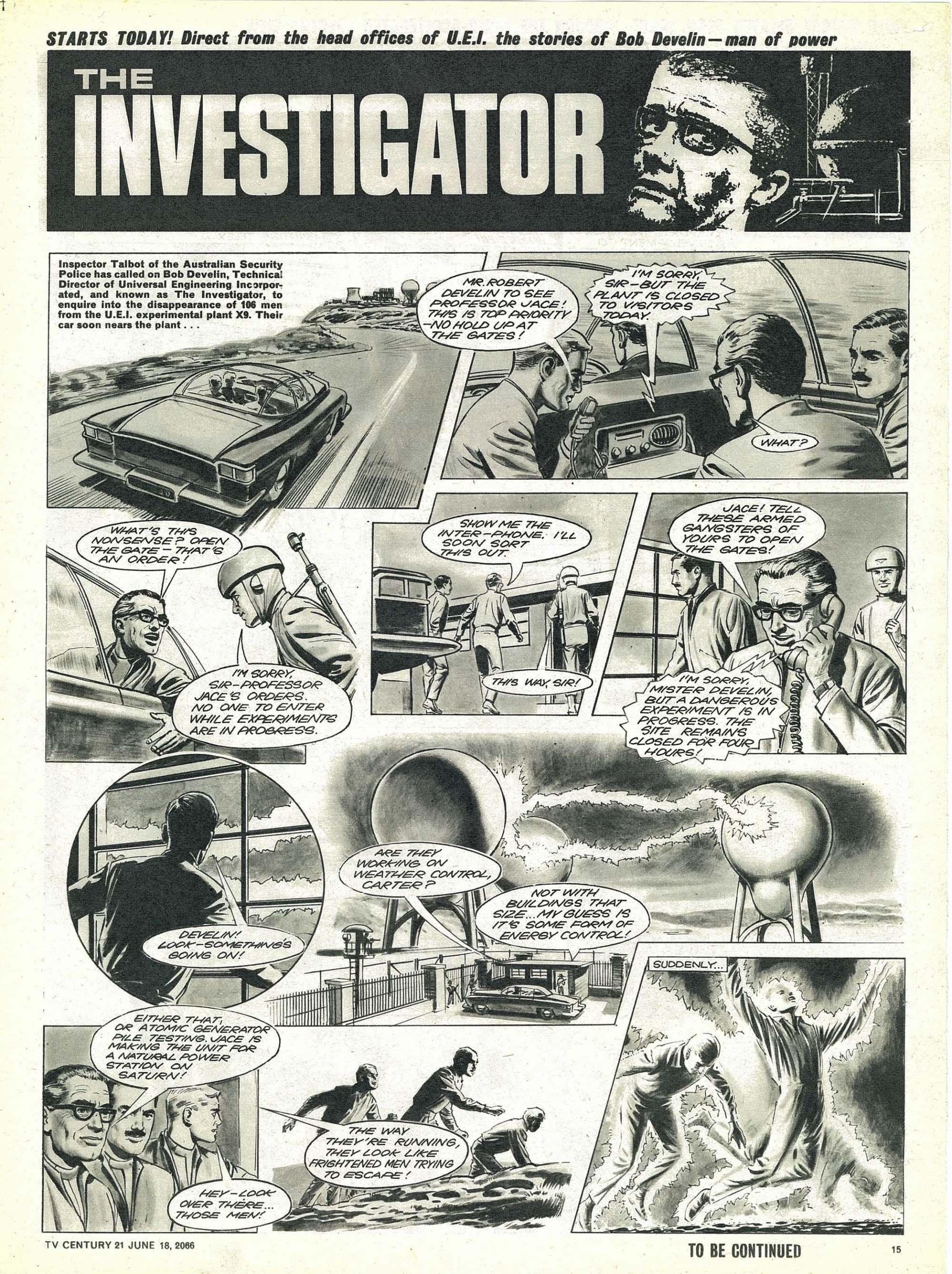 Read online TV Century 21 (TV 21) comic -  Issue #74 - 14