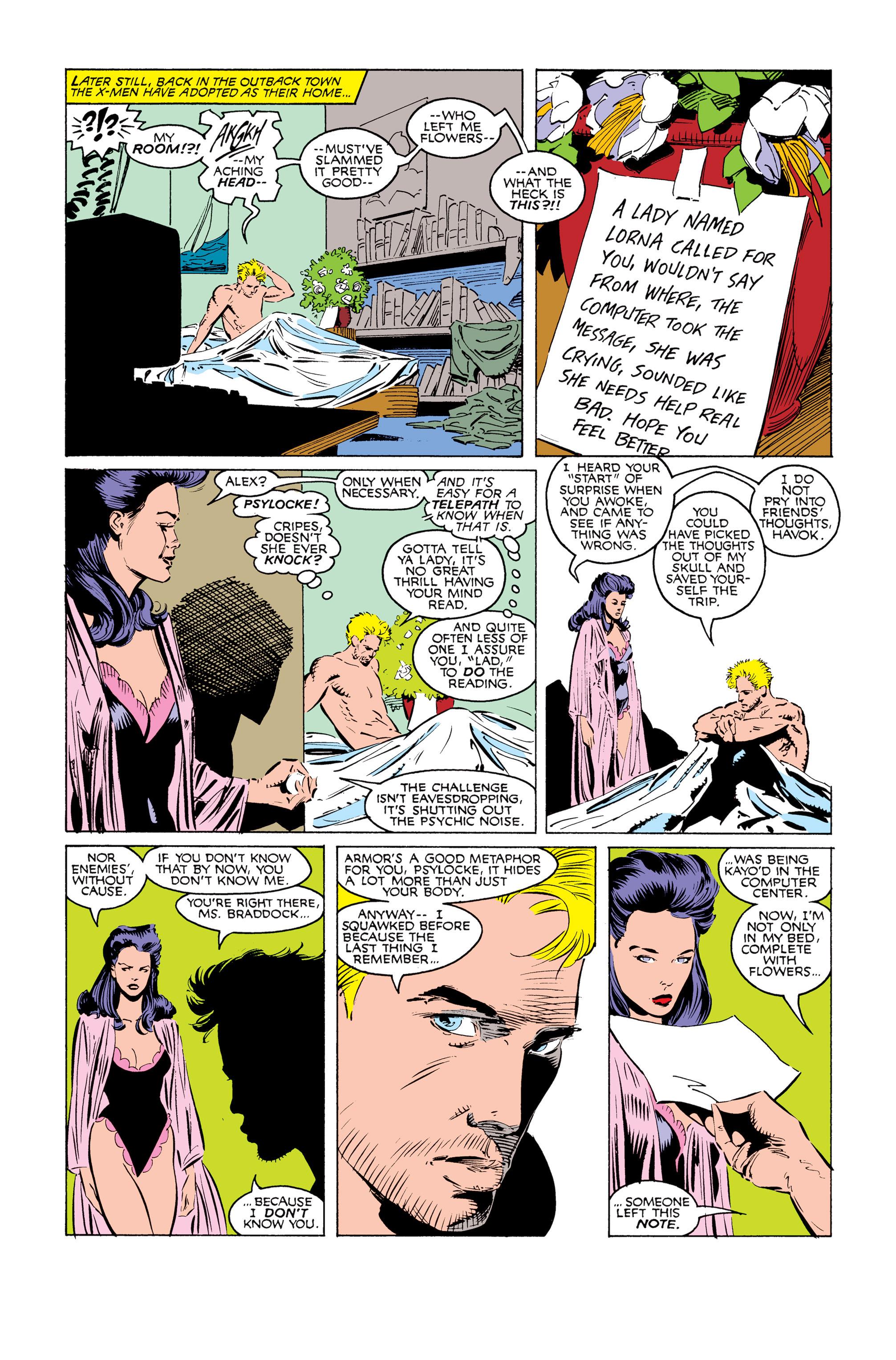 Read online Uncanny X-Men (1963) comic -  Issue #249 - 11